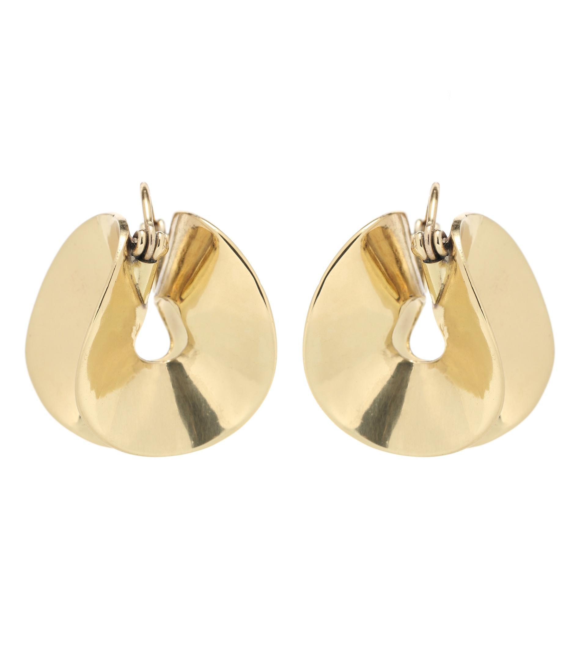 Ellery Babylon Flounce earrings AudDOuudzK