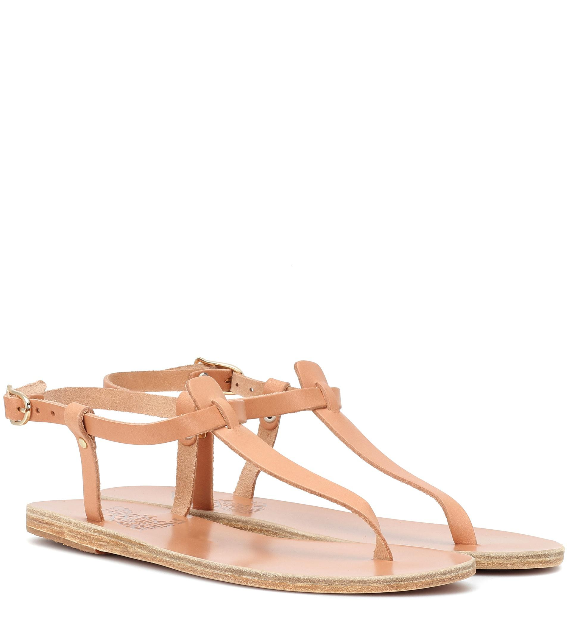 86230b3f960 Ancient Greek Sandals Lito Leather Sandals in Brown - Lyst