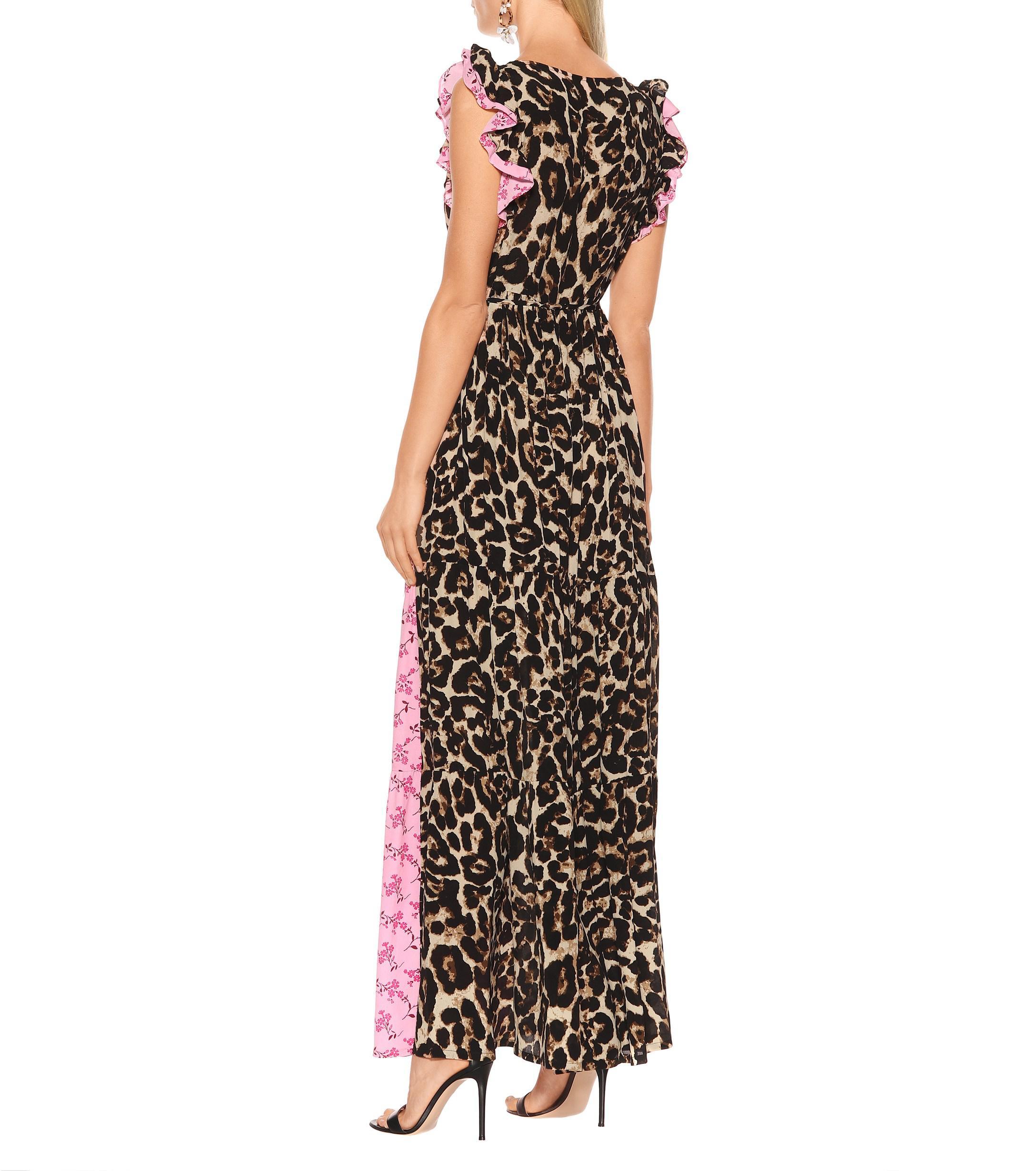 d8f03fc05 Exclusivo en Mytheresa - vestido largo Aiza estampado Baum und ...