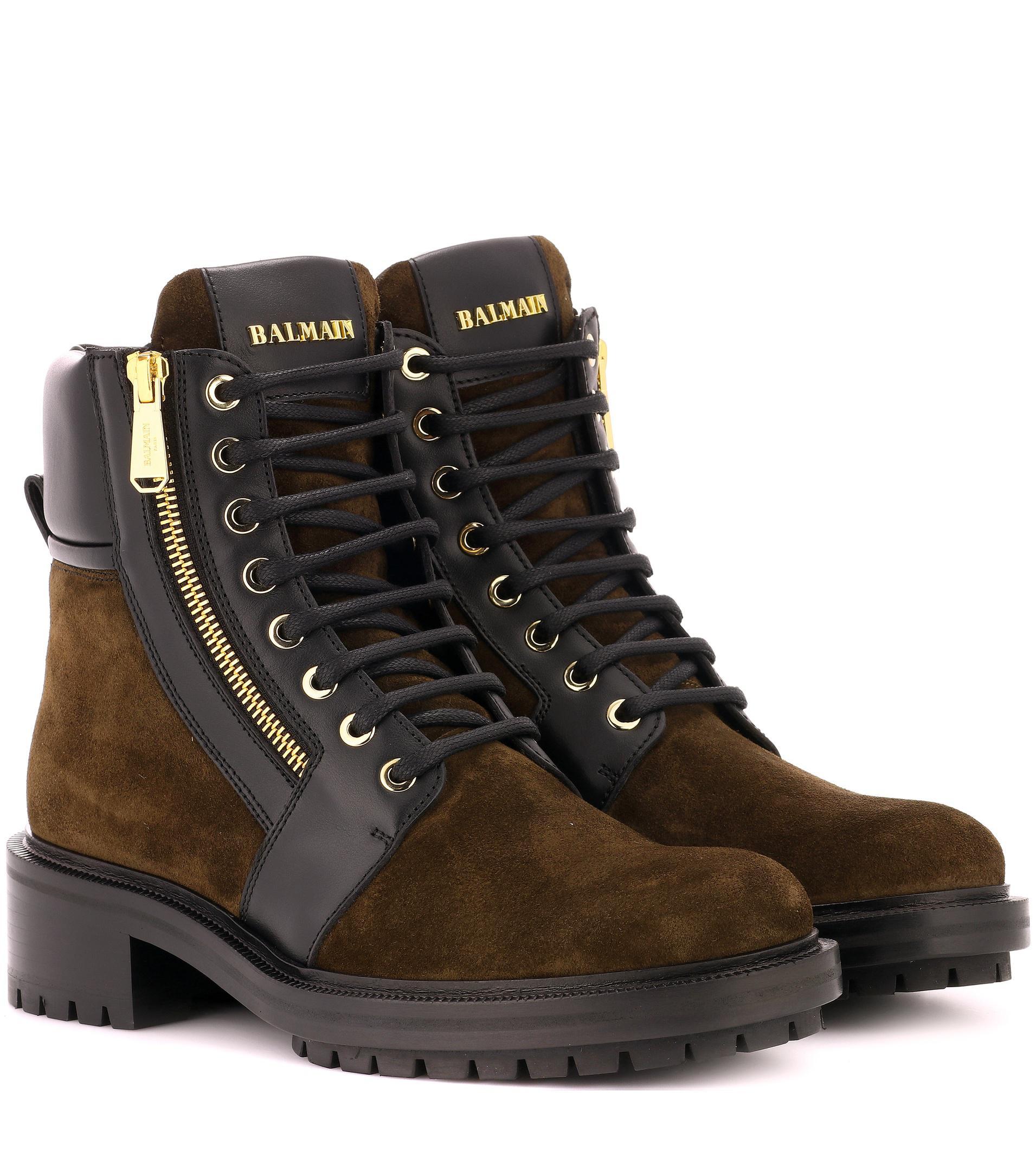 Ranger suede ankle boots Balmain lwQUS8xpG