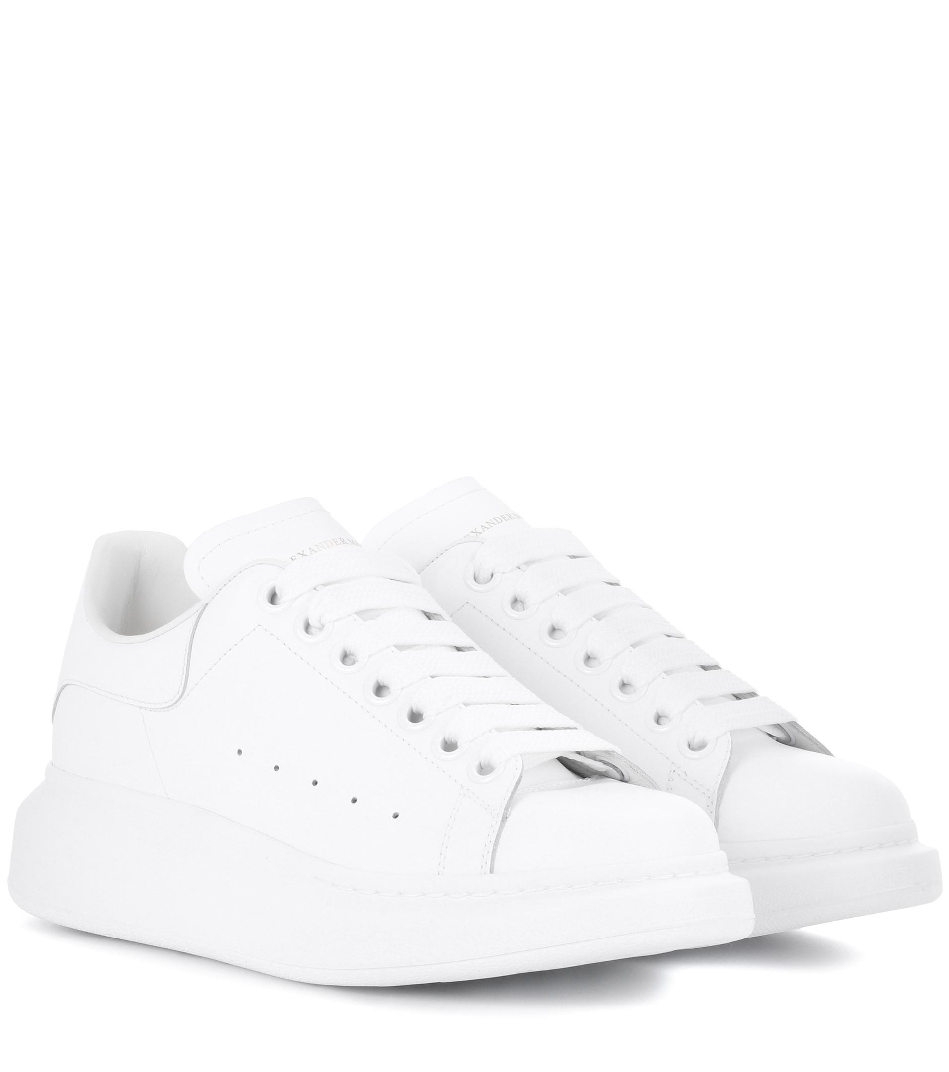Sneakers Alexander Lyst in McQueen Leather White Fc3JK1Tl