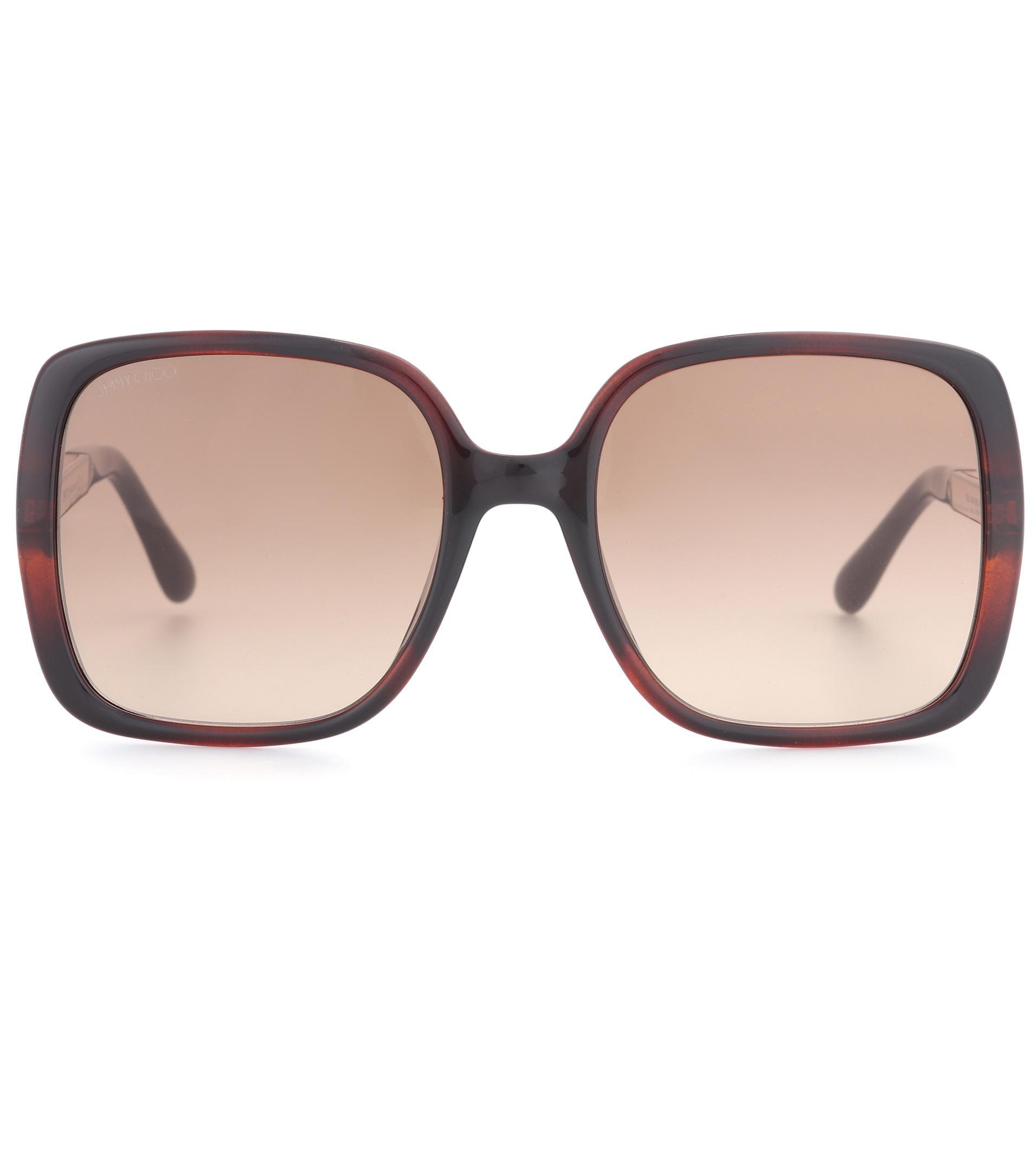 Jimmy choo Bobby tortoiseshell sunglasses Abzvnk