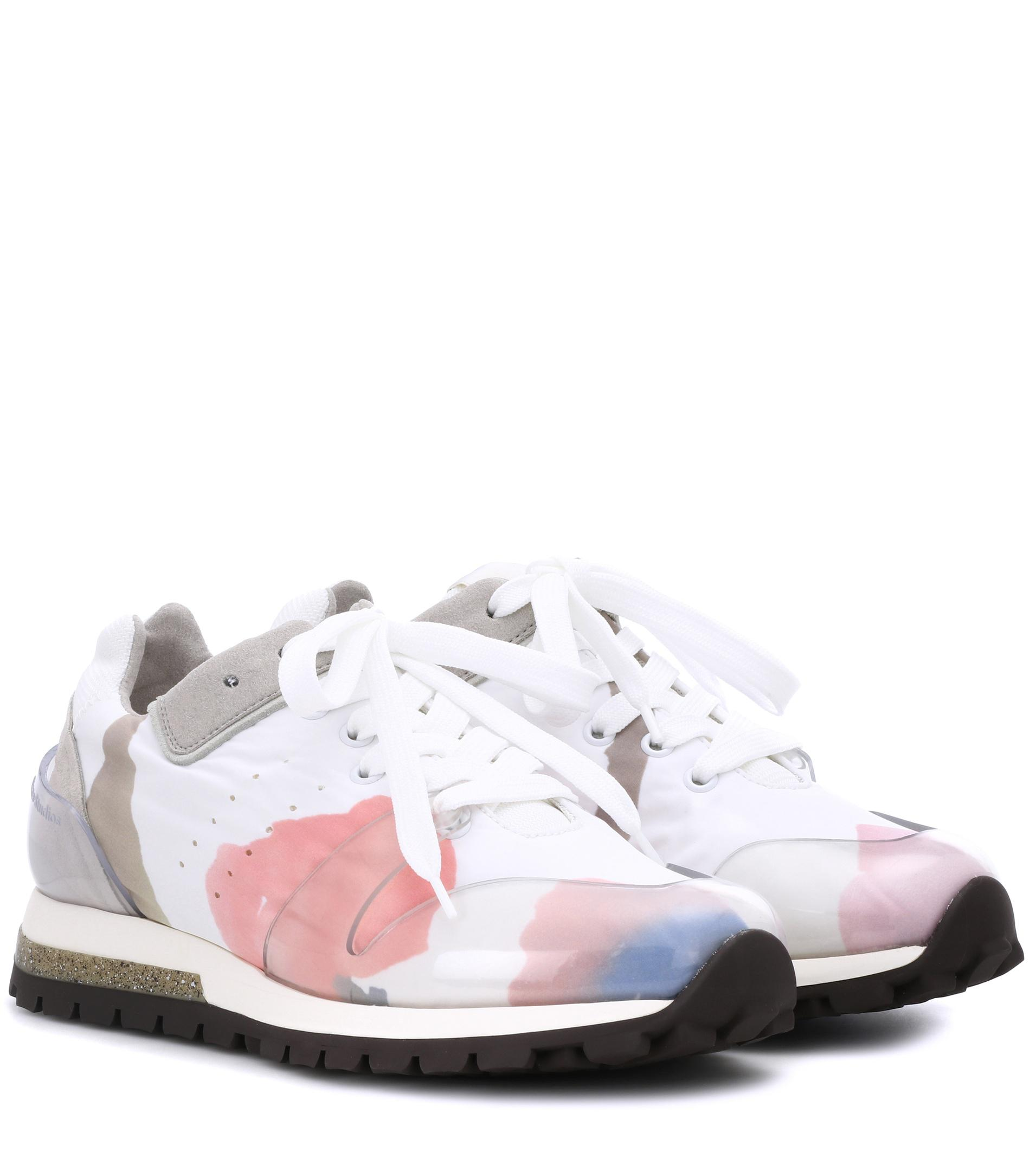 Acne Studios White Joriko Flower Sneakers Y4ZmMlFCS