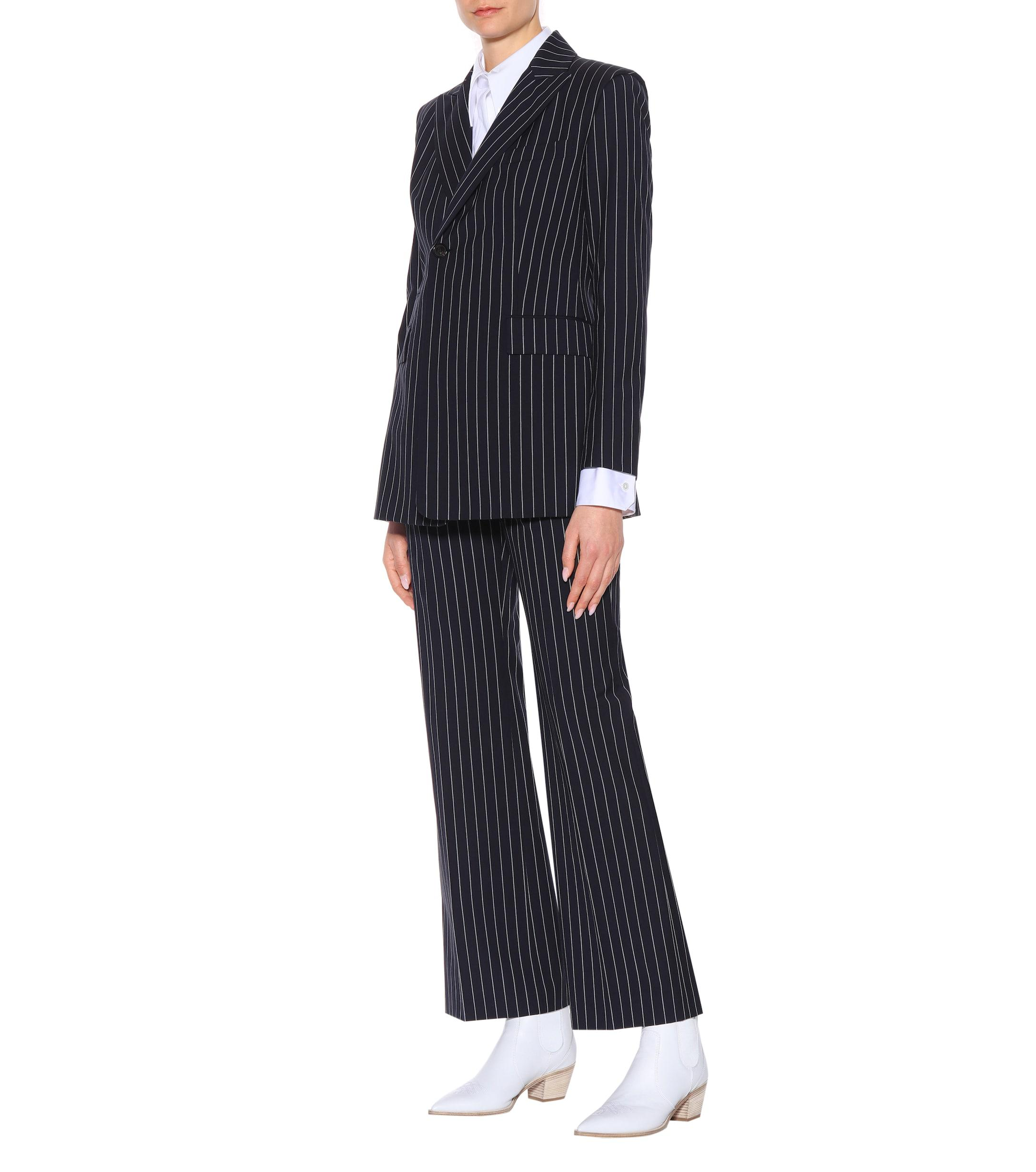Pinstriped Lyst Blue Acne In Jezzy Blazer rdCWxeBo