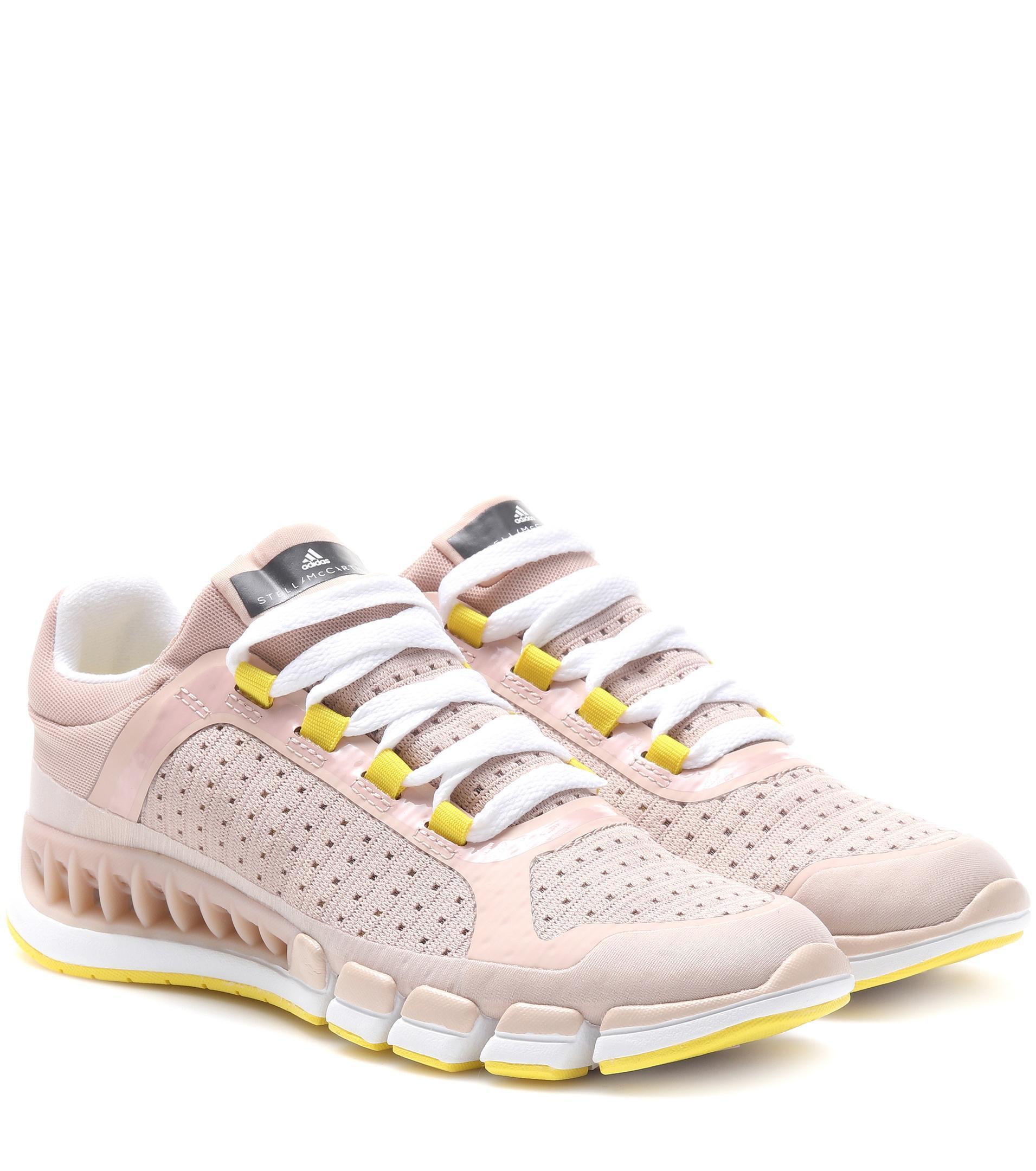 lyst adidas da stella mccartney rivoluzione scarpe rosa