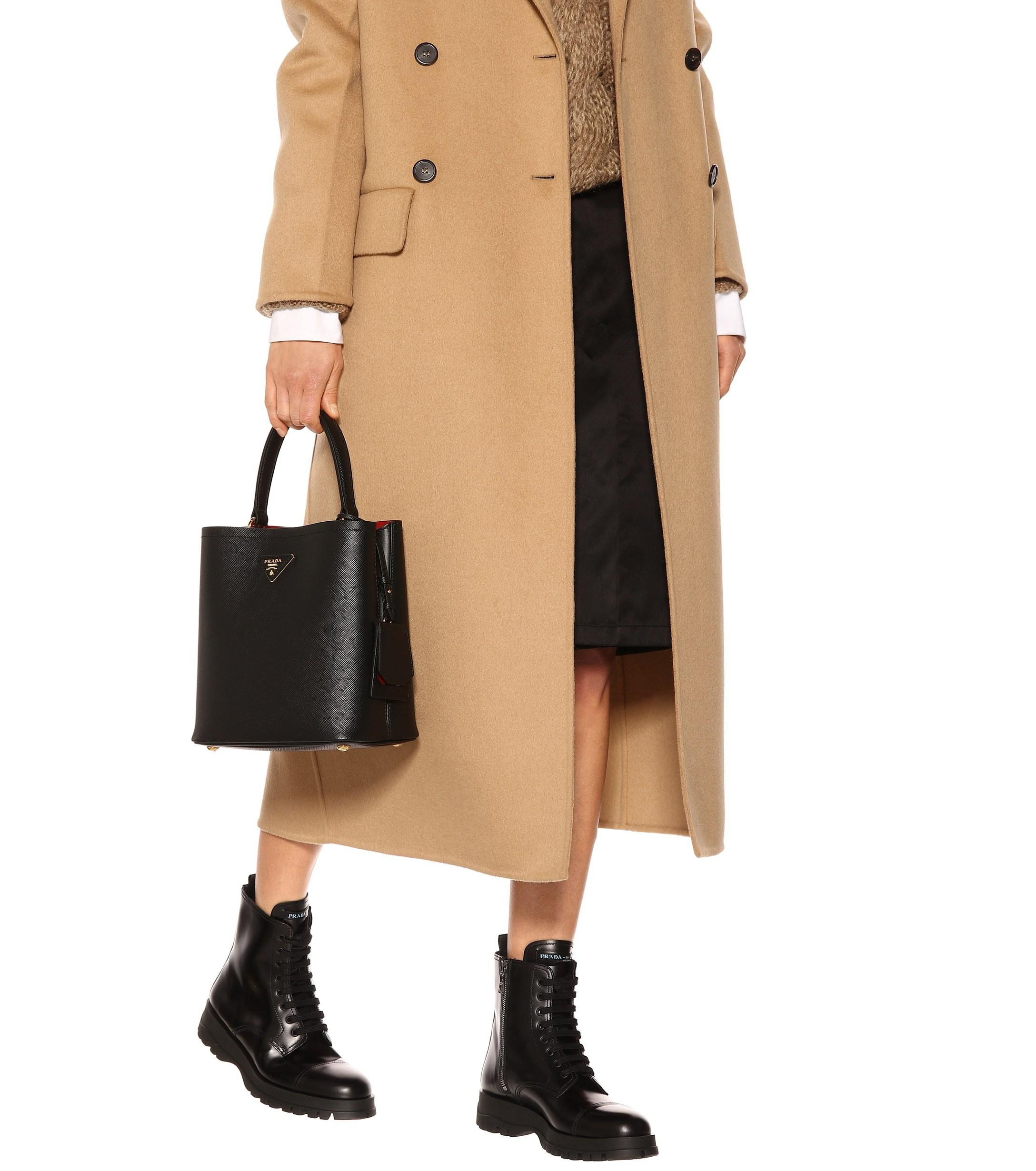 abb6072a2548 ... Panier Medium Leather Shoulder Bag - Lyst. View fullscreen