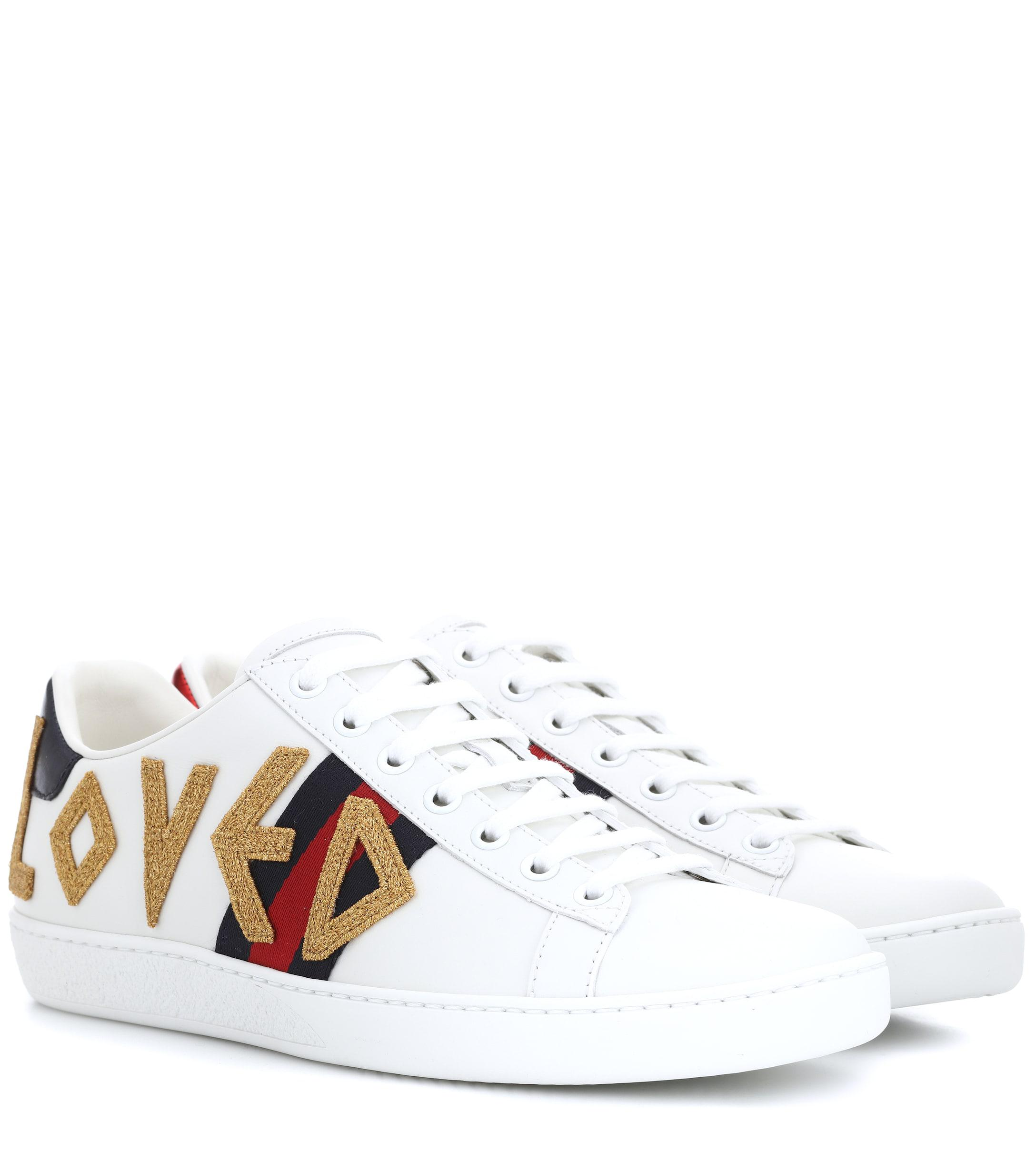 a3574f933044 Gucci. Women s Ace Leather Sneakers.  670 From Mytheresa