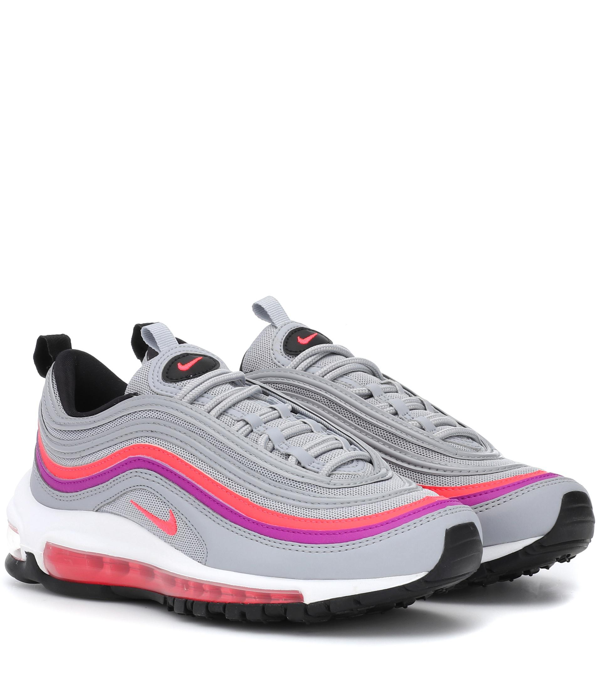 low priced a6f7b cdd50 ... low cost nike air max in 97 leather sneakers in max grå lyst d9b03a  84b0d 26541