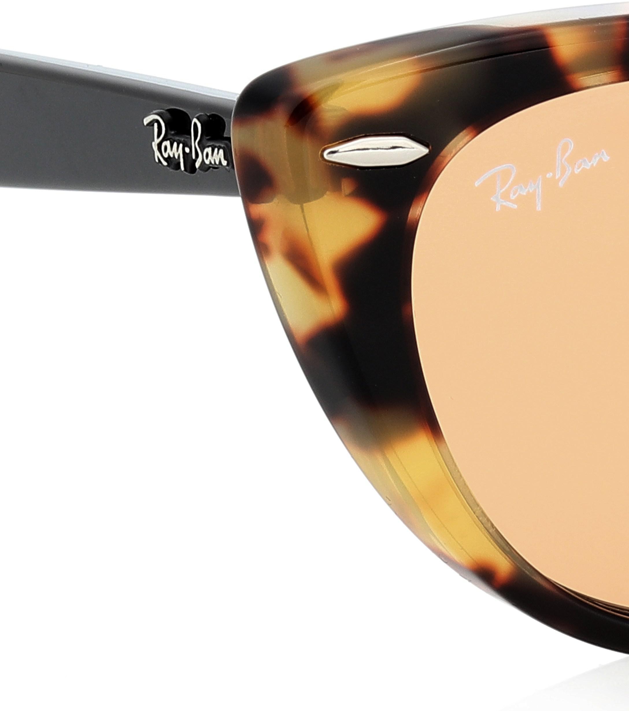 24800bf43f Gafas de sol cat-eye Nina X Ray-Ban de color Marrón - Lyst