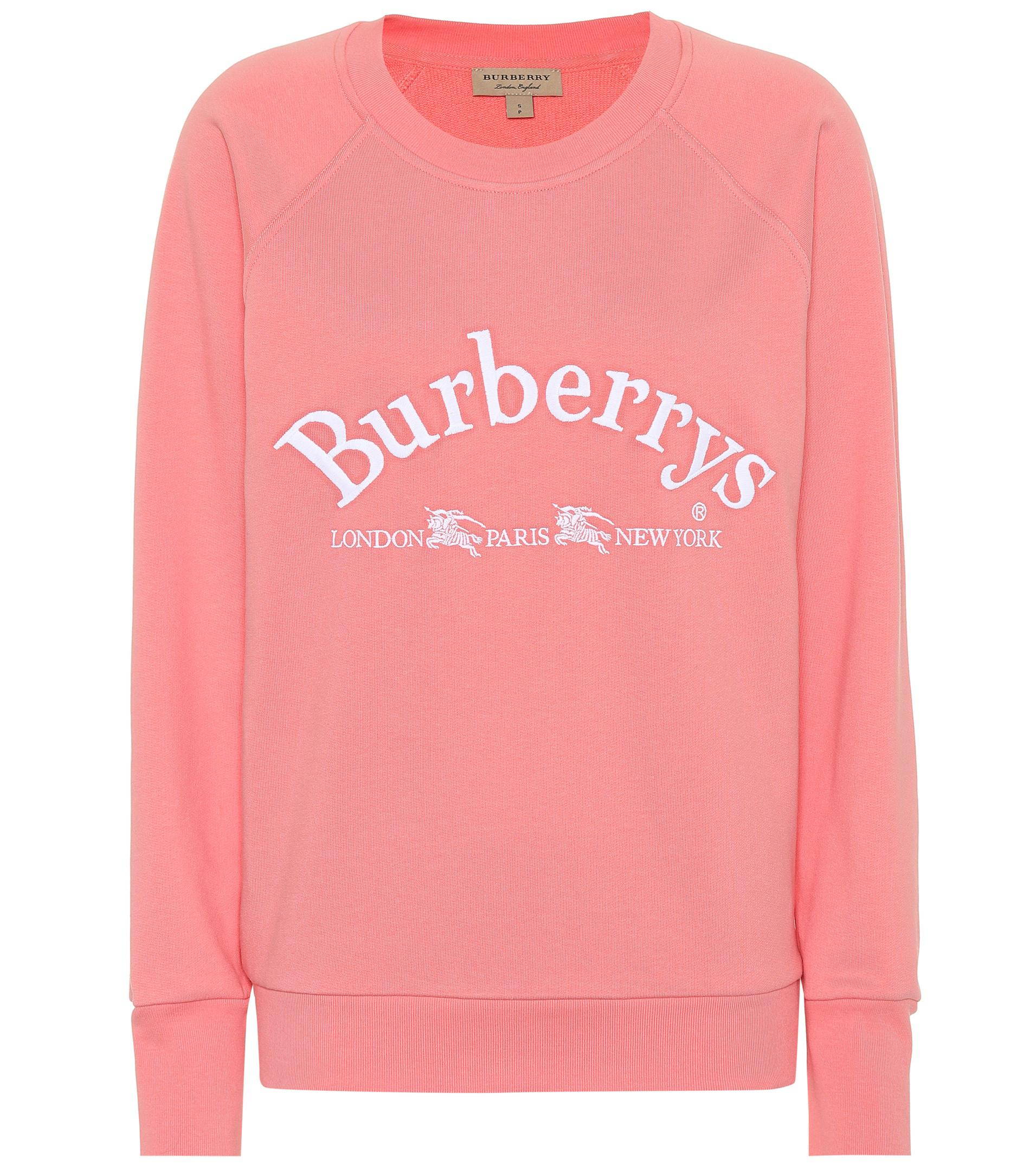 Shirt Coton Lyst Sweat Battarni Burberry En Brodé Archive UzVSpqM