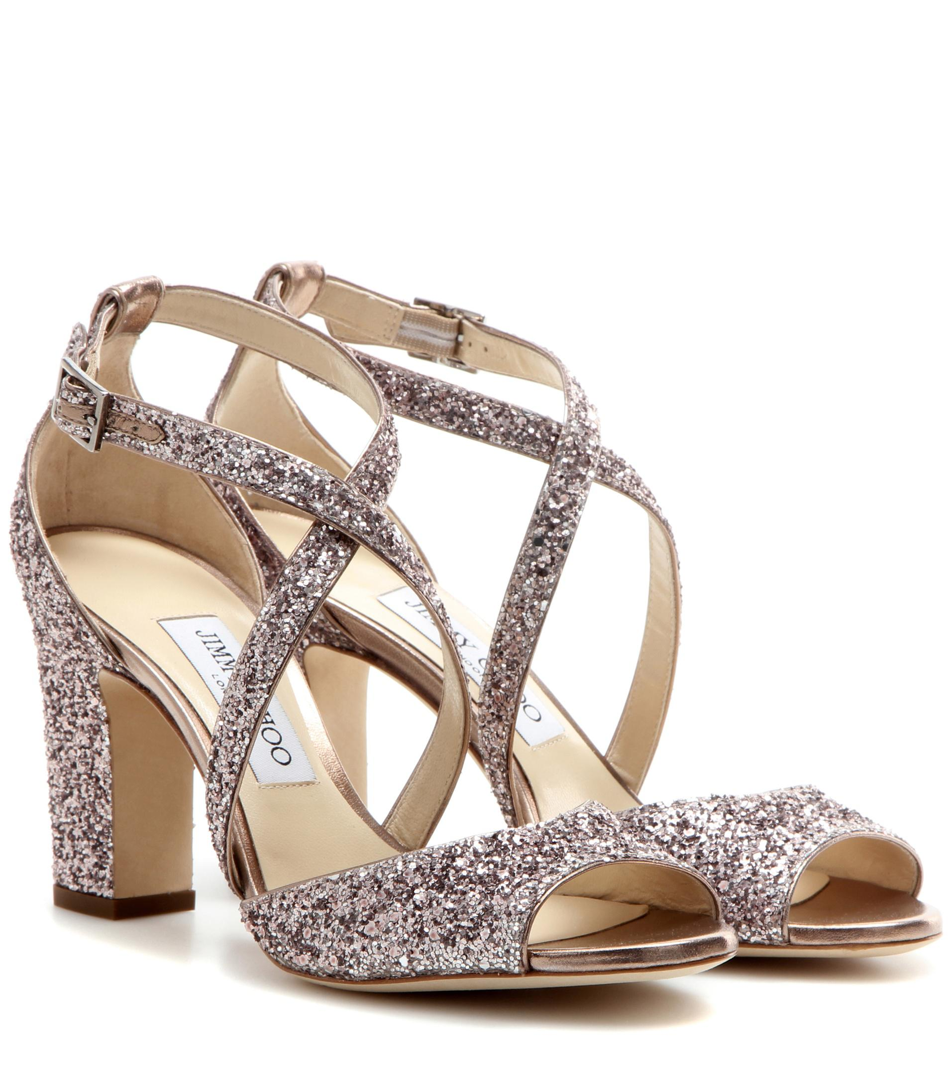 60c609ccc483 Gallery. Previously sold at: Mytheresa · Women's Jimmy Choo Glitter Shoes