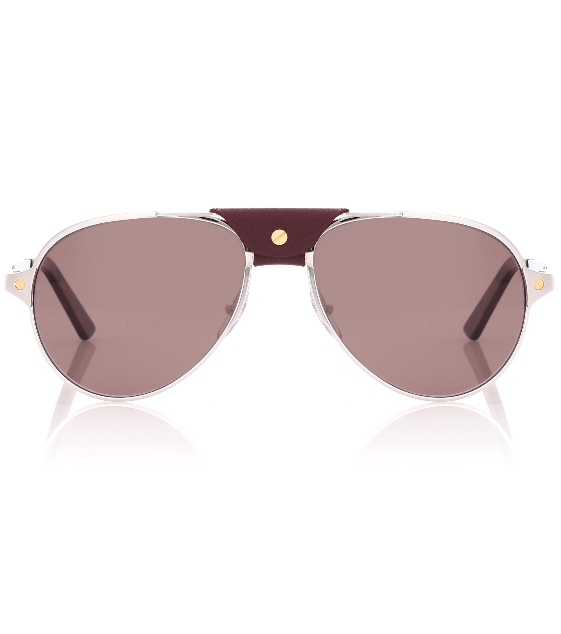 dc68699ad34b Cartier Santos Aviator Sunglasses - Restaurant and Palinka Bar
