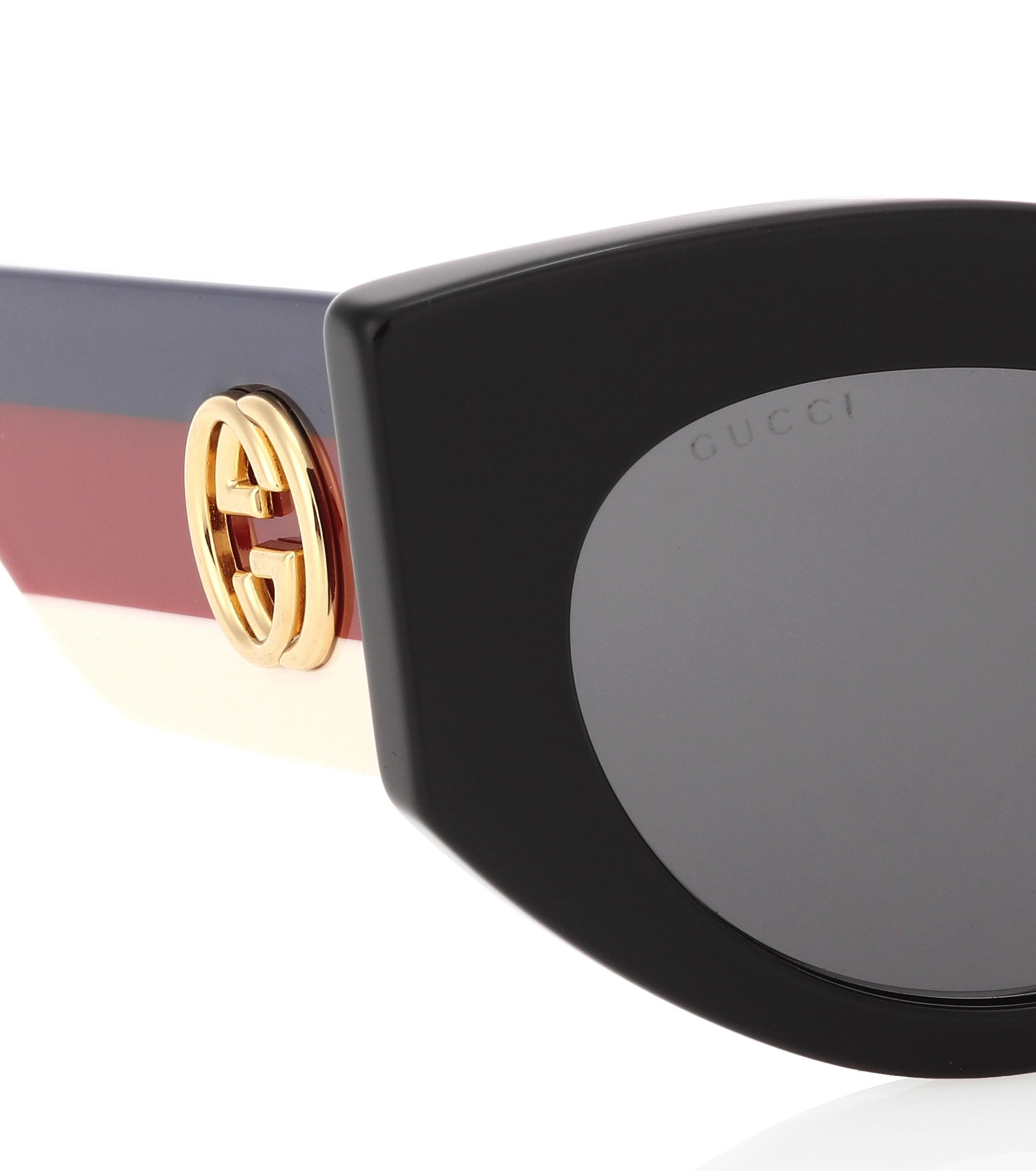 a848d7e34c9 Oversized Cat Eye Sunglasses Gucci - Image Of Glasses