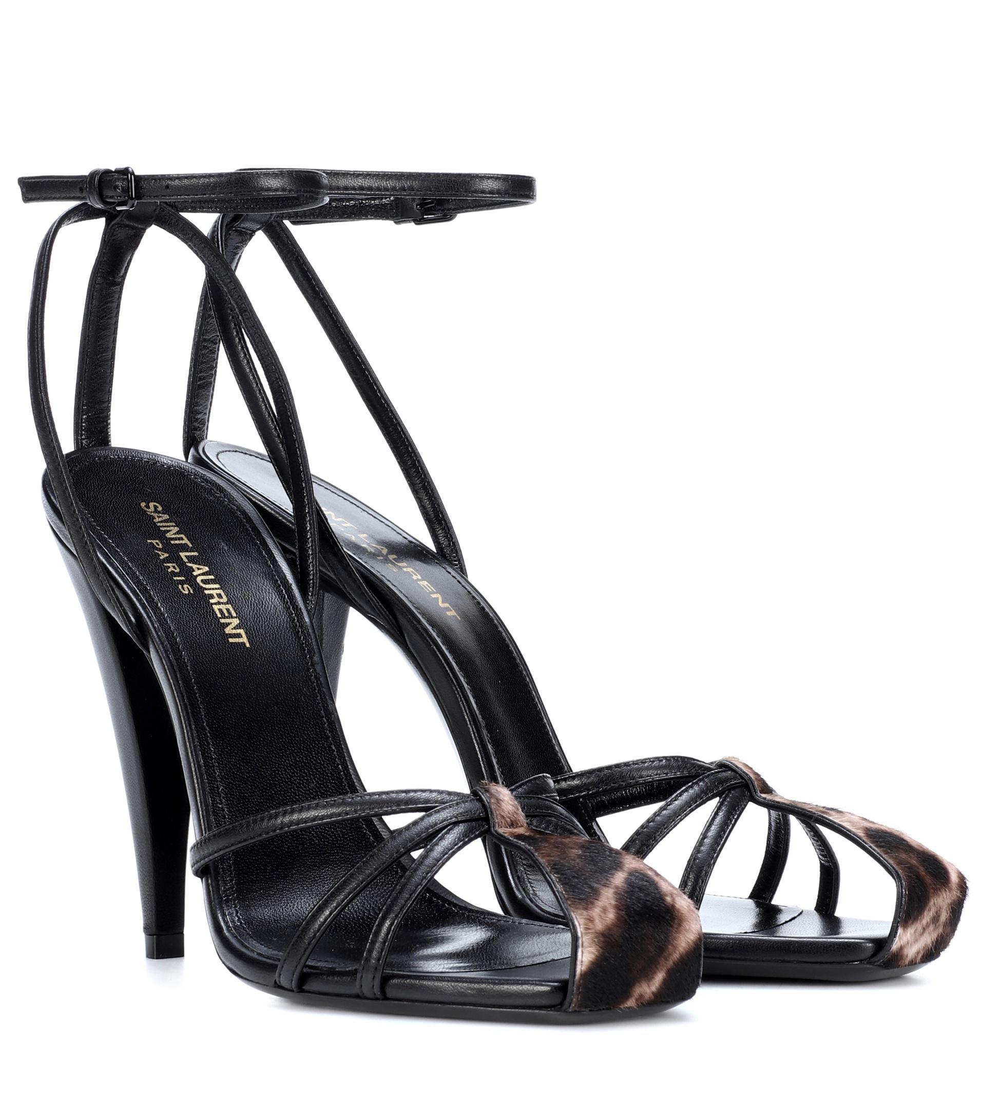 ERA 110 leather sandals Saint Laurent 2rAjxHId