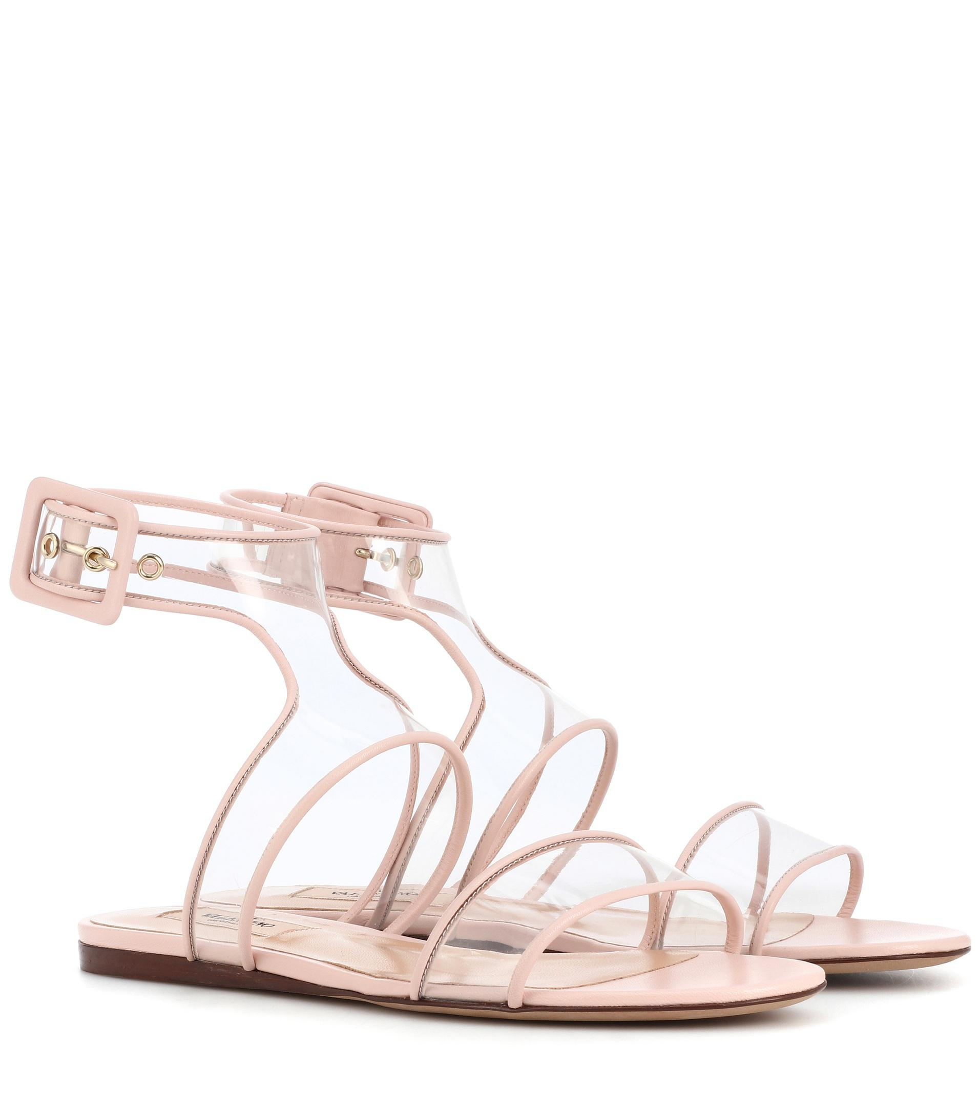 Valentino Dollybow bow-embellished leather sandals Free Shipping Fast Delivery Outlet Store Excellent Cheap Online 7YLaQDDIy