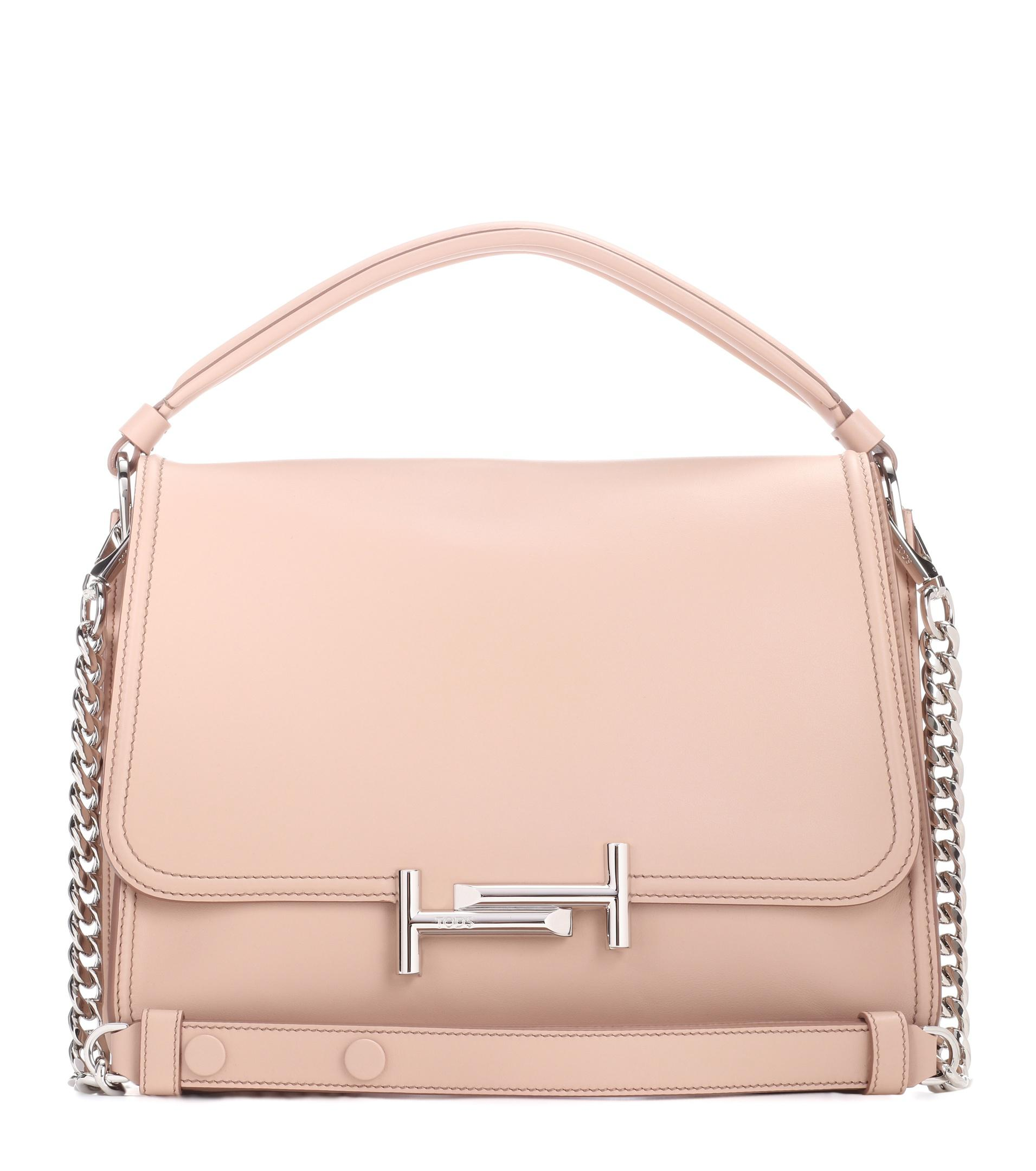 Sac en cuir Double T Medium cQL2CB8NG