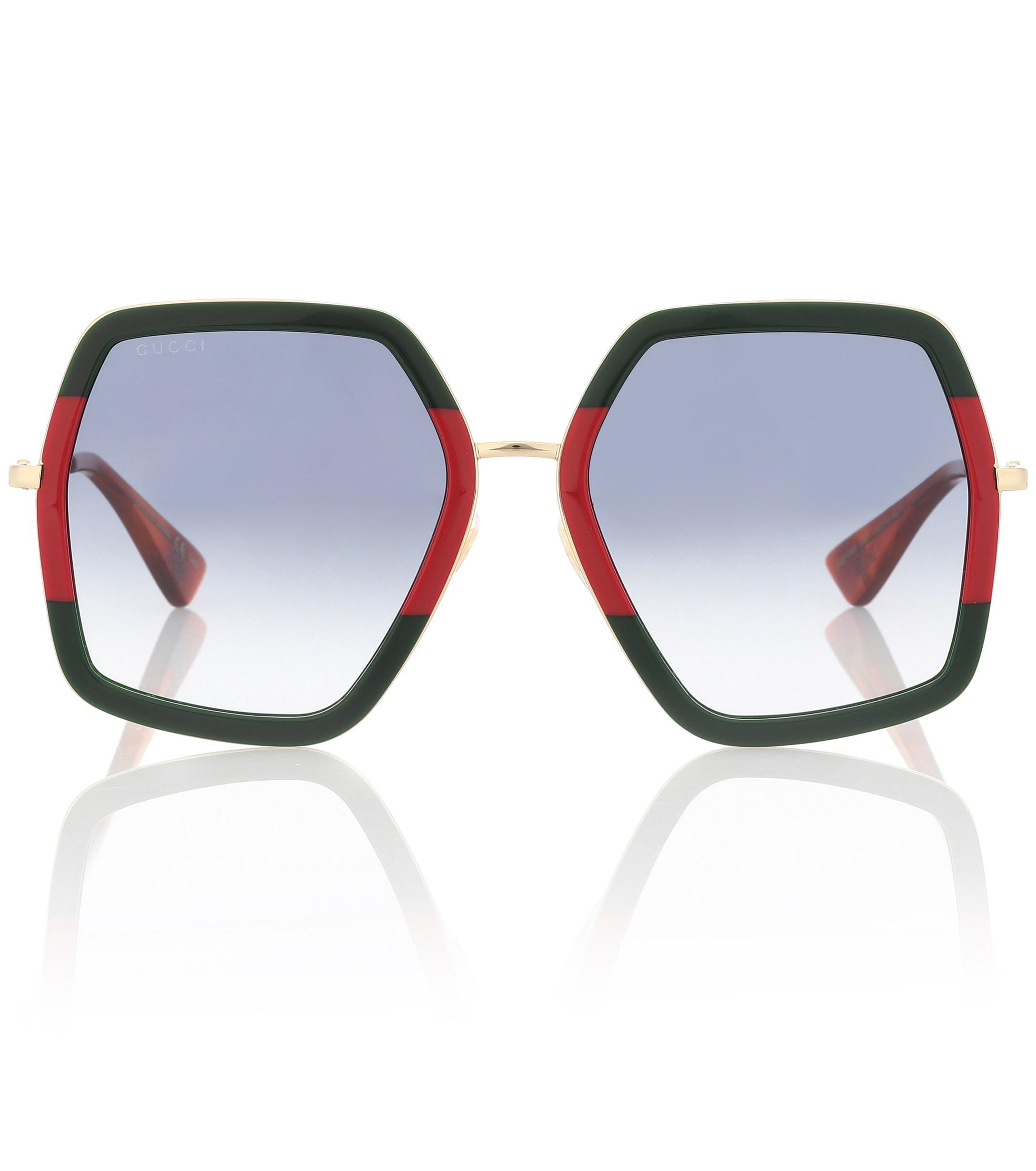 53c0f2faa1e Gucci. Women s Square Sunglasses