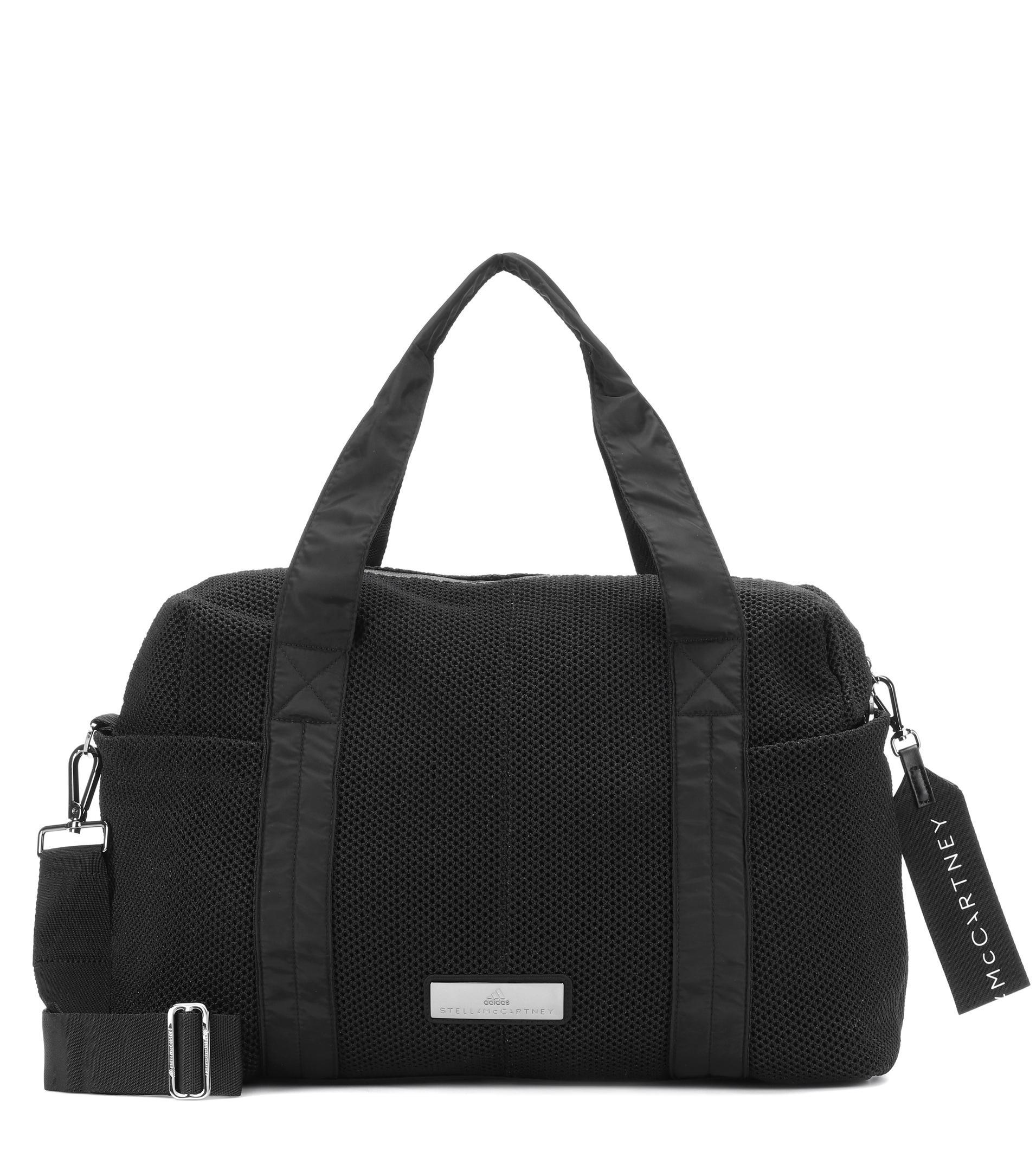 a86072b5f1 Lyst - adidas By Stella McCartney Shipshape Shoulder Bag in Black