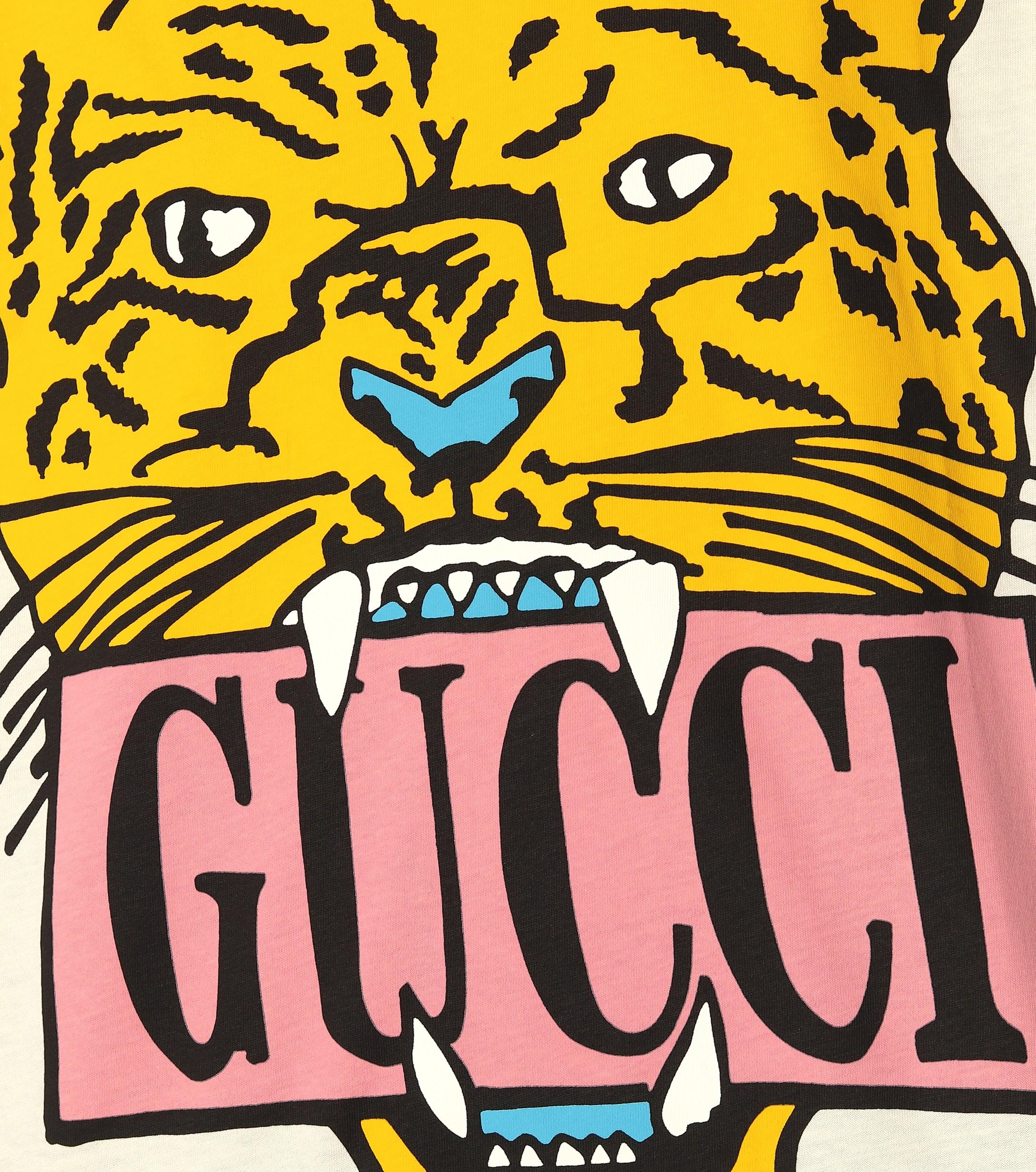 801057663 Gucci Tiger T-shirt - Save 41% - Lyst