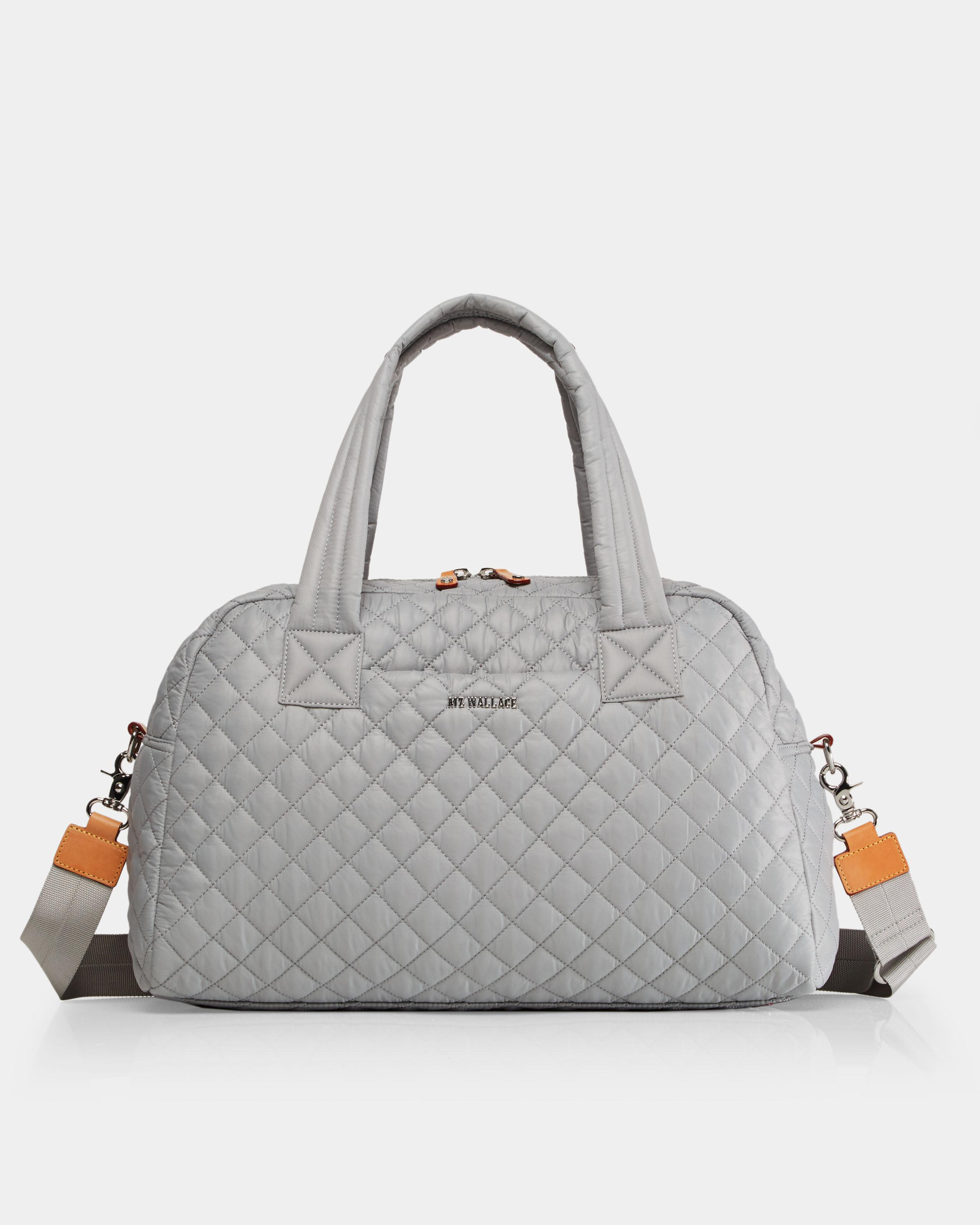 8de7e7dc09 MZ Wallace - Gray Quilted Dove Grey Jimmy - Lyst. View fullscreen
