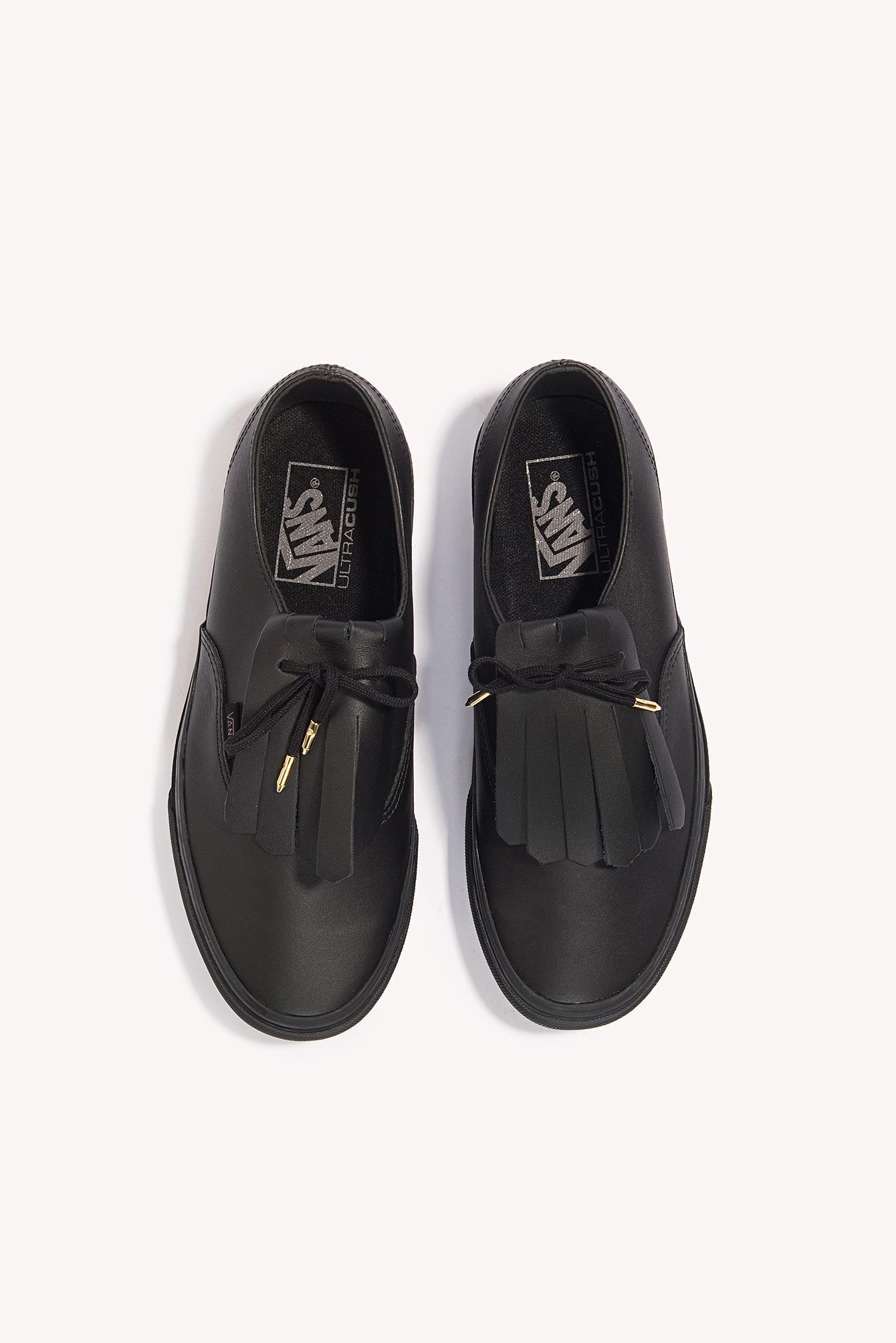 3279b07873 Lyst - Vans Authentic Fringe Dx Black gold in Black