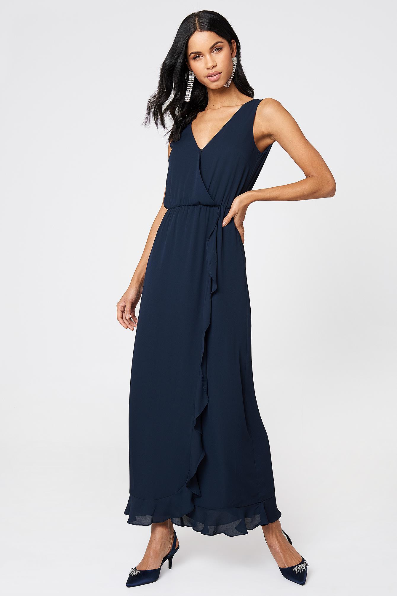 5983ad56ddcc Samsøe   Samsøe Limon Long Dress Dark Sapphire in Blue - Save 12% - Lyst