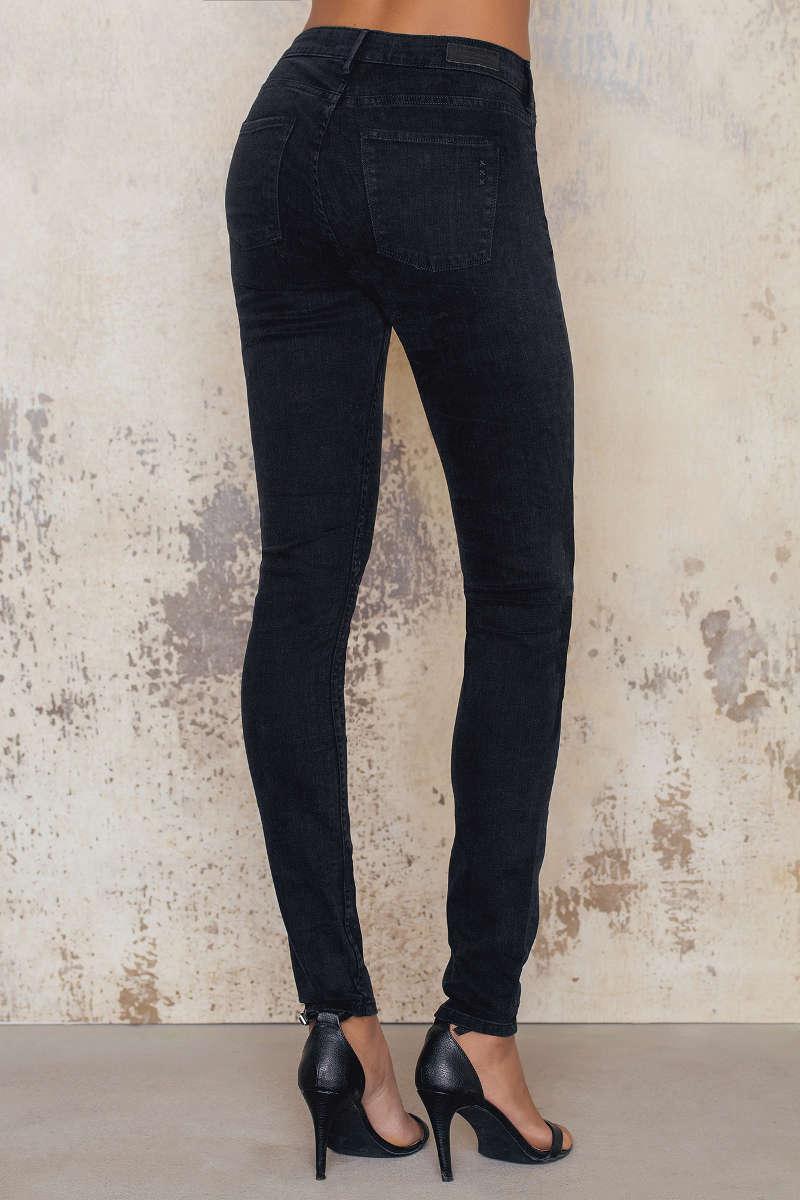 maison scotch precious rock jeans in black lyst. Black Bedroom Furniture Sets. Home Design Ideas