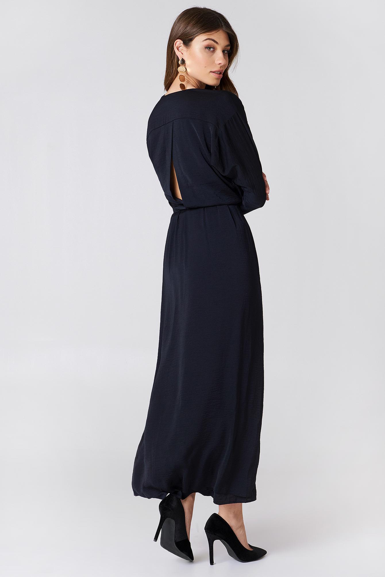 Lyst - Filippa K Drapey Wrap Dress in Blue 82dbc4419f65