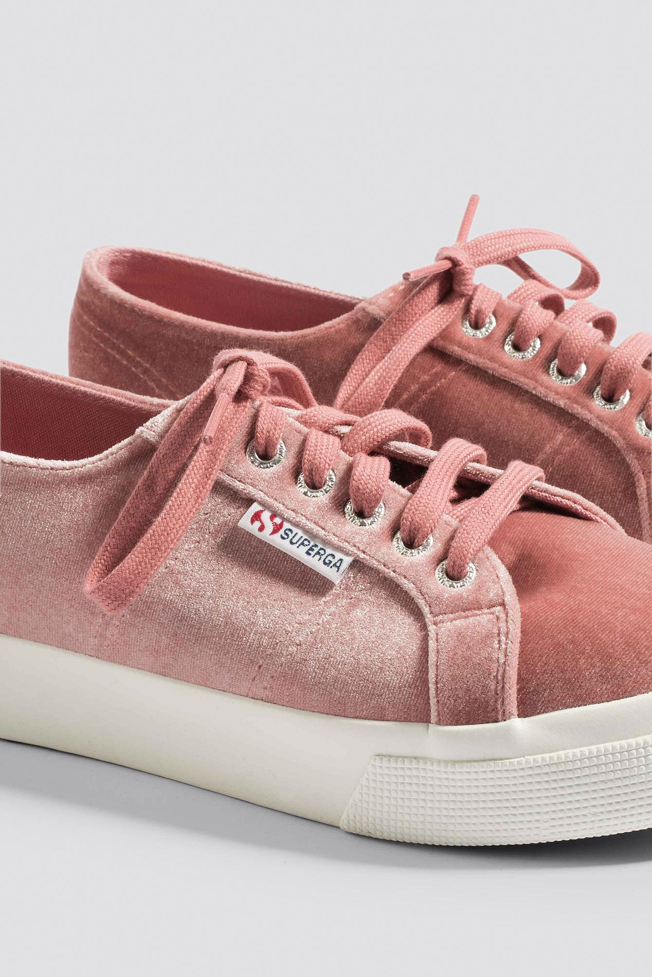 7da4608778f Lyst - Superga Velvetchenill 2730 Pink Dusty Rose in Pink