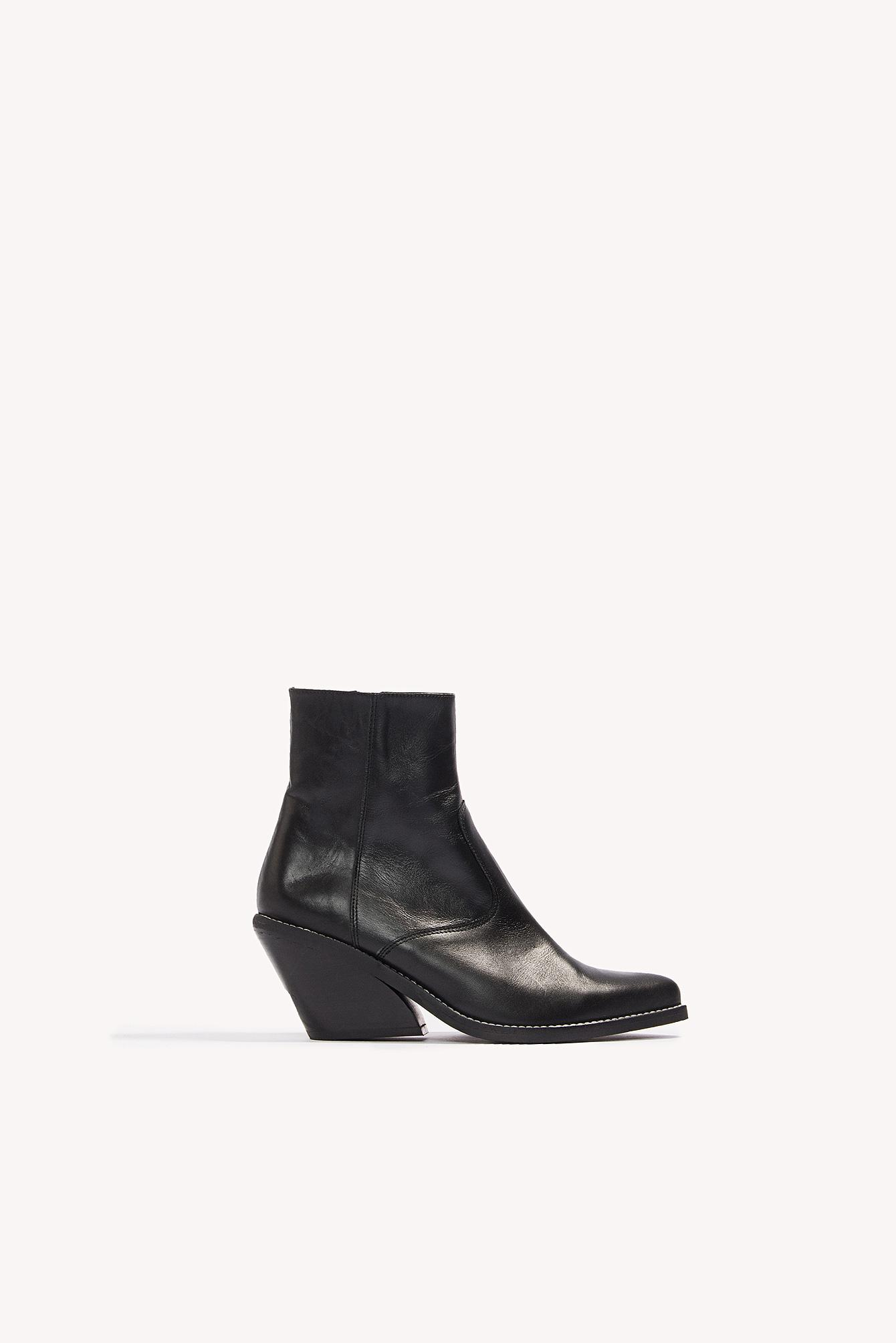 a202ff6e744 Henry Kole Evie Boots in Black - Lyst