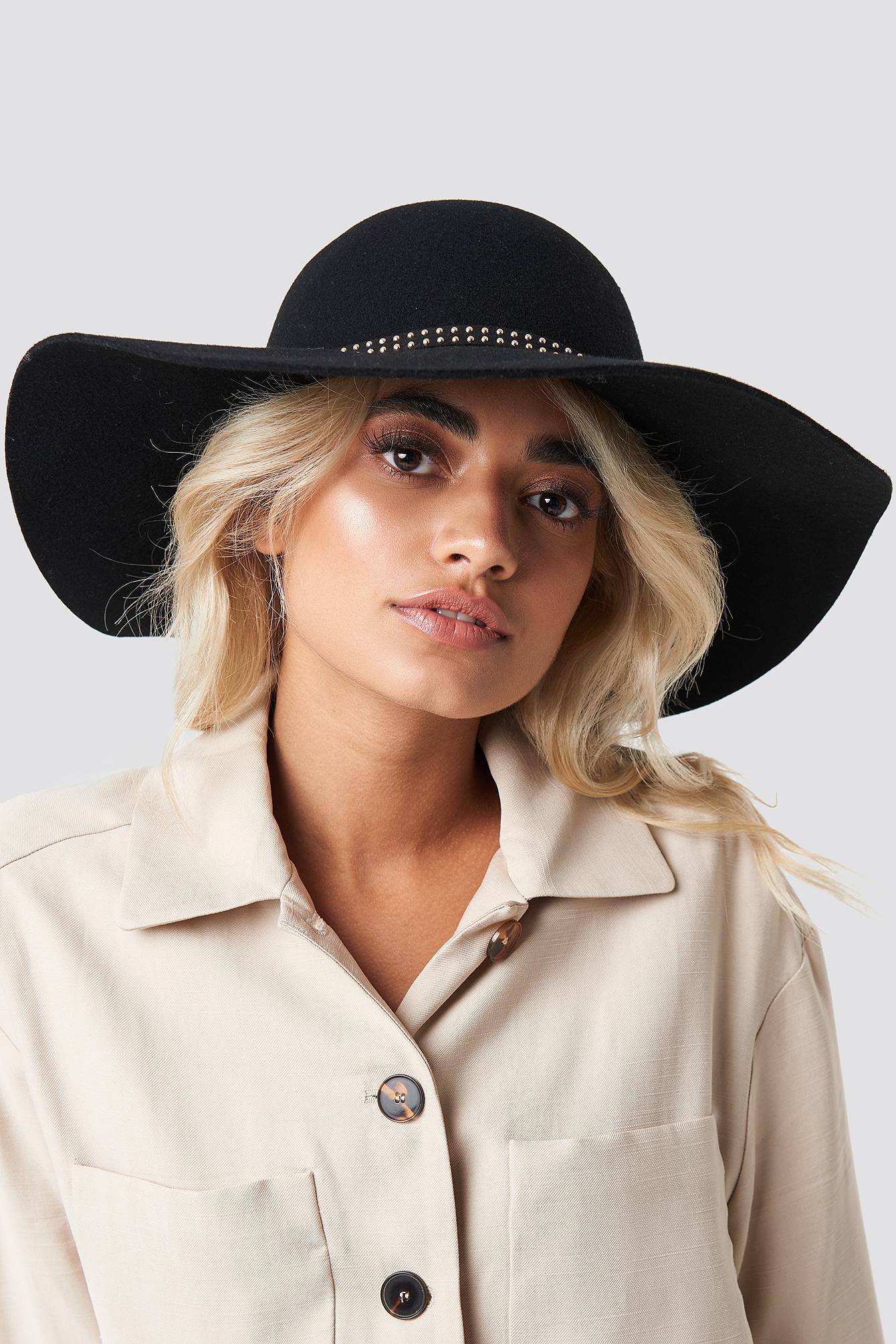 b5079ae07d6a5 NA-KD - Hanadi Diab Hat Black - Lyst. View fullscreen