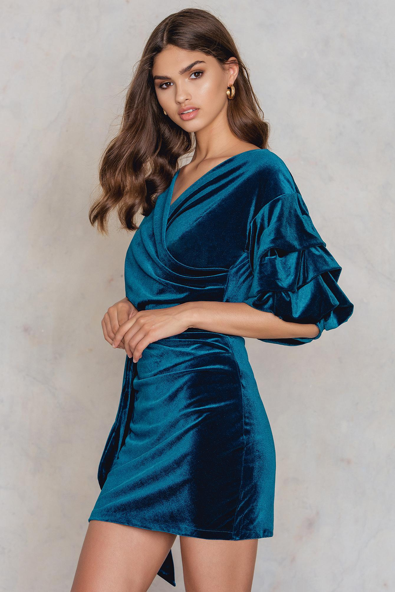 ad2dffa164 Lioness Valley Of The Dolls Dress in Blue - Lyst