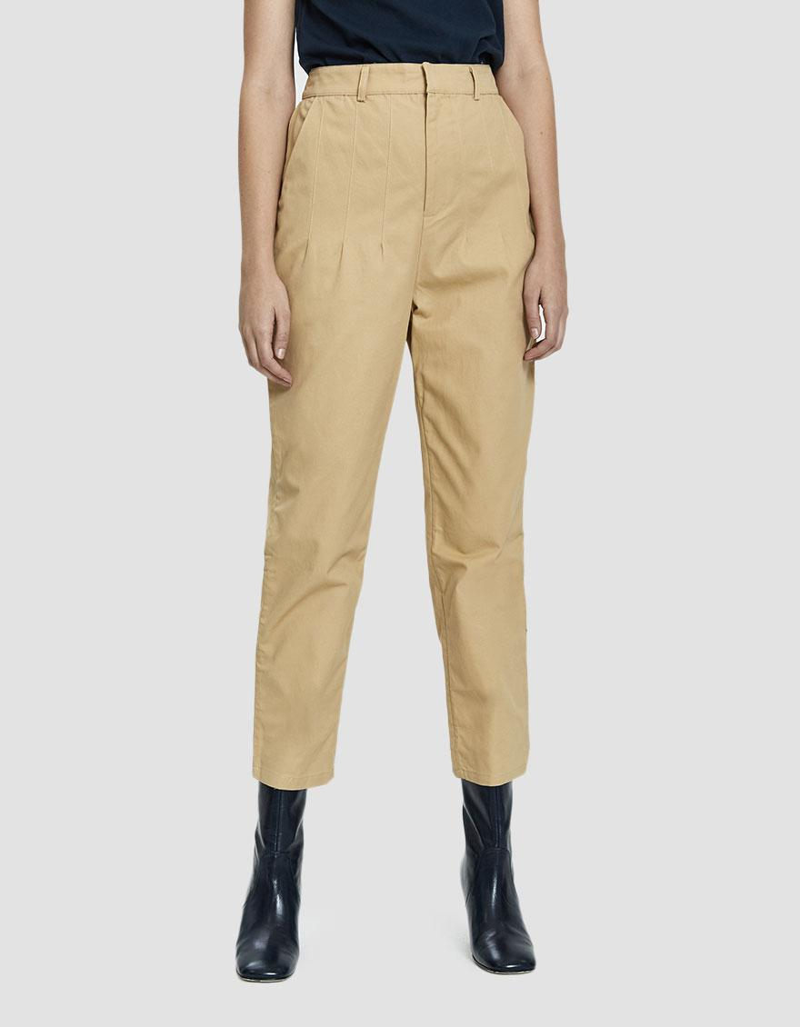 d9fd611dec7 Lyst - Stelen Indie High-waisted Twill Pant in Natural - Save 59%