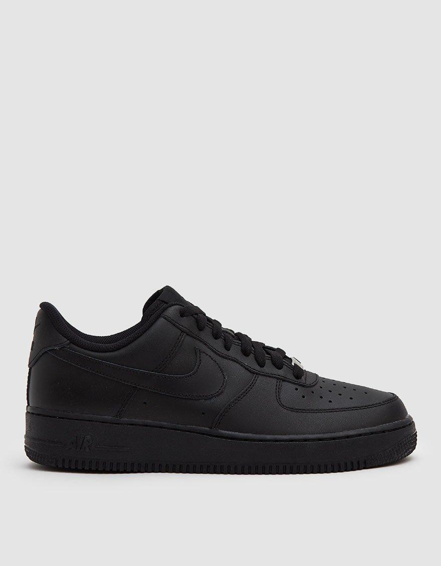 1cfb9be66f22c3 Lyst - Nike Air Force 1  07 Sneaker in Black for Men