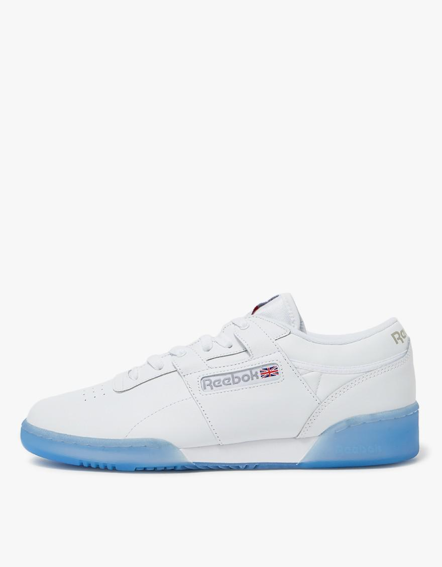 ee7946d580e531 Lyst - Reebok Workout Low Clean Ice In White in White for Men