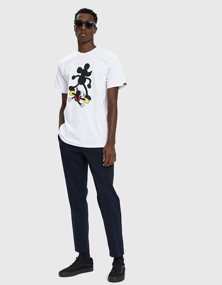 c212f10b37 Vans Mickey Mouse 90th T-shirt in White for Men - Lyst