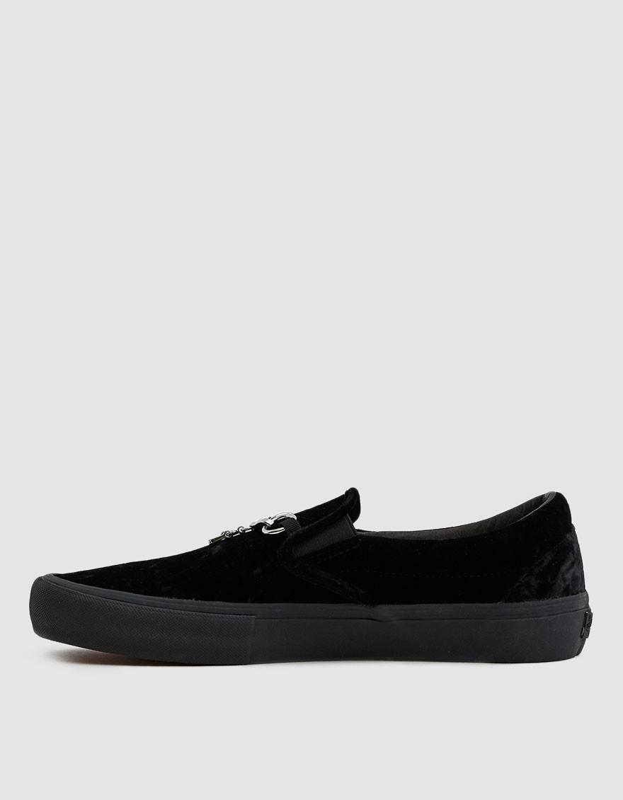 2b730ea3501 Vans Needles Velvet Classic Slip-on Vlt Lx Sneaker in Black for Men - Lyst
