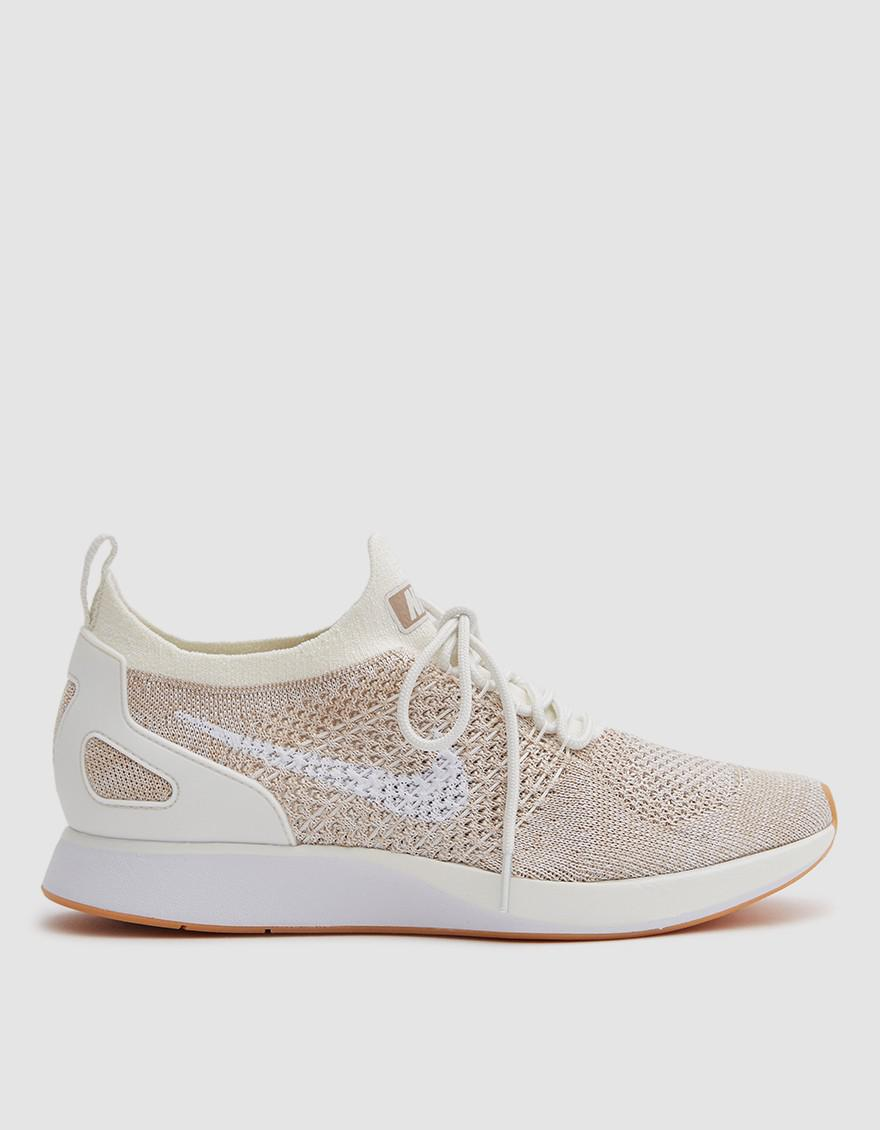 Lyst - Nike W Air Zoom Mariah Flyknit Racer In Sail White in White 38744aaae