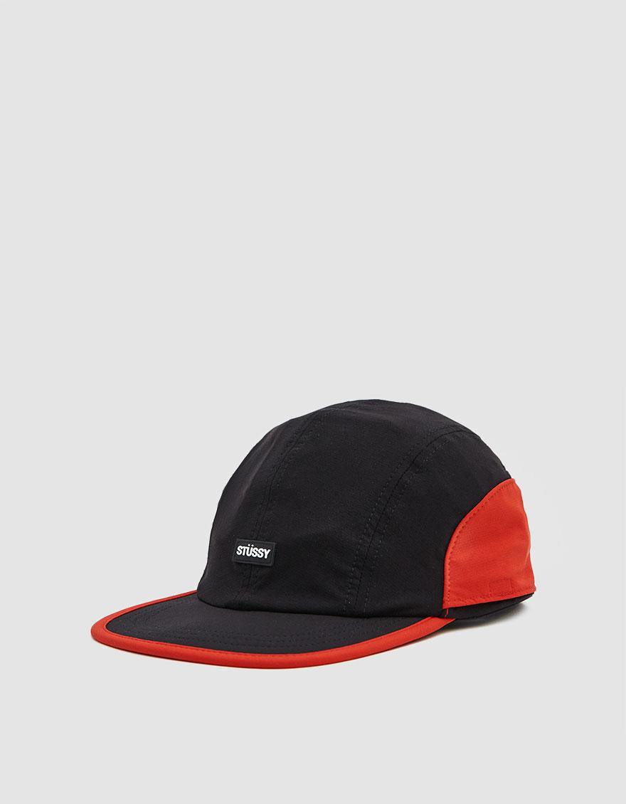 26ba7ec025b Lyst - Stussy Two Tone Bungee Camp Cap in Black for Men