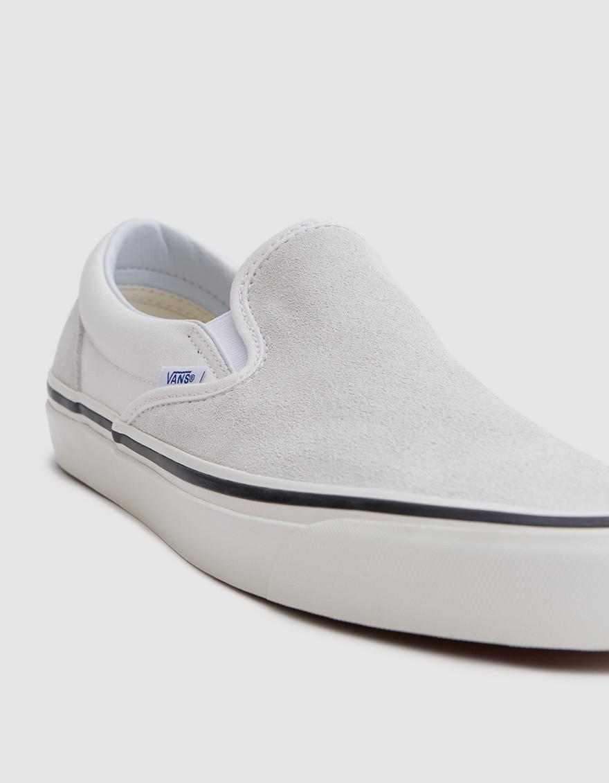 814007d11c Vans Classic Slip-on 98 Dx Anaheim Factory In Og White in White for ...