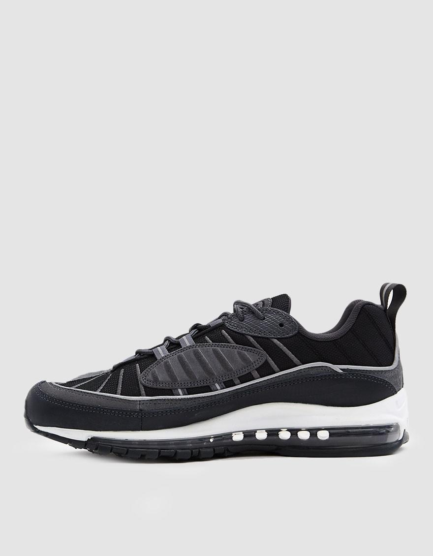new arrival 32c50 6d5fa Nike Air Max 98 Se Sneaker In Black anthracite in Black for Men - Lyst