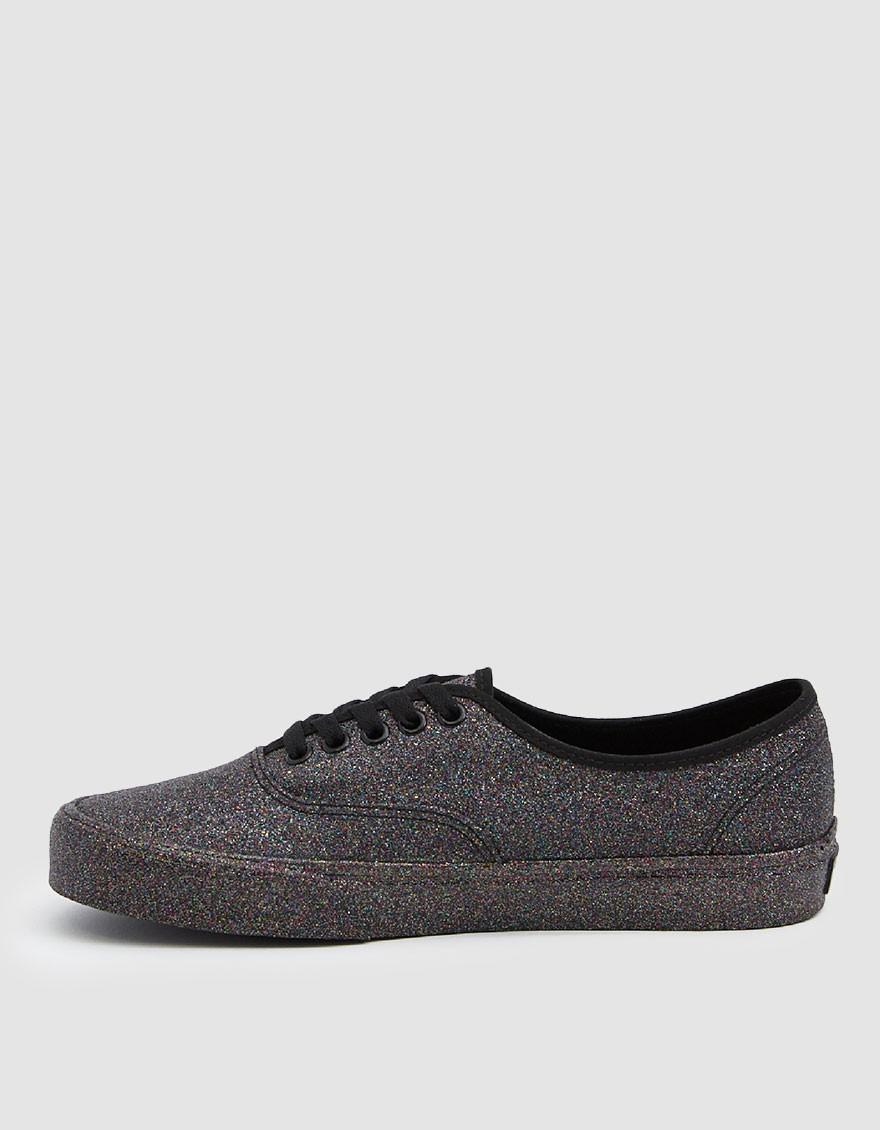 2579d23f88b Vans Rainbow Glitter Authentic Sneaker in Black - Save 22% - Lyst