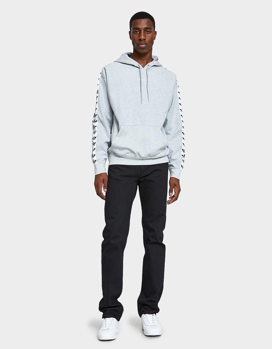 9eb31d8ab4af Lyst - adidas Tnt Tape Hoodie In Medium Grey Heather in Gray for Men