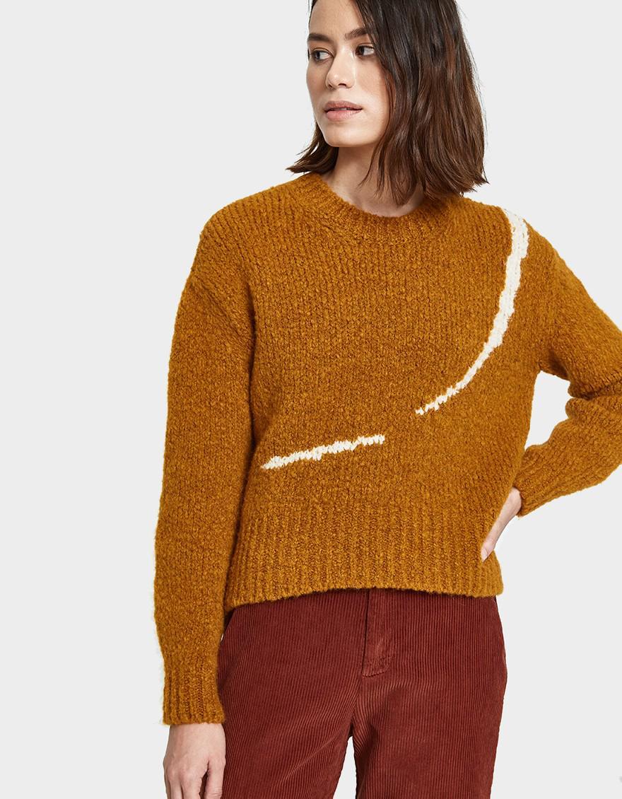 Lyst Paloma Wool Linda Listen Sweater In Copper