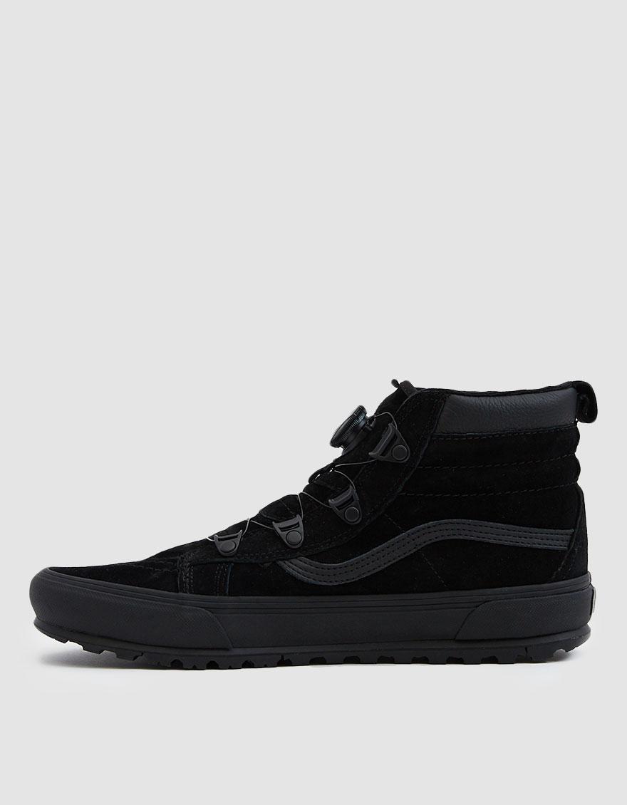 209adf79a1f45f Lyst - Vans Sk8-hi Mte Boa Sneaker in Black for Men
