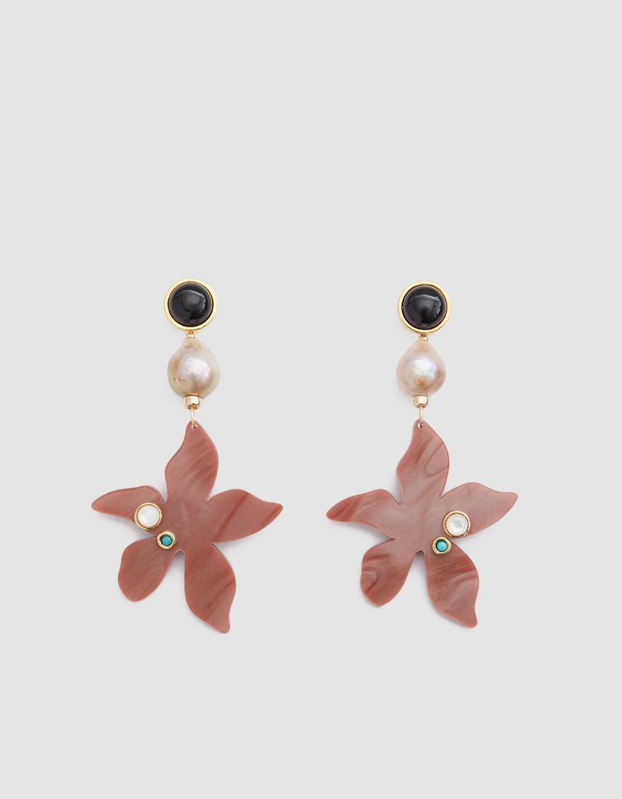 Lizzie Fortunato Portugal Poppy Earrings OQ3rWIhG
