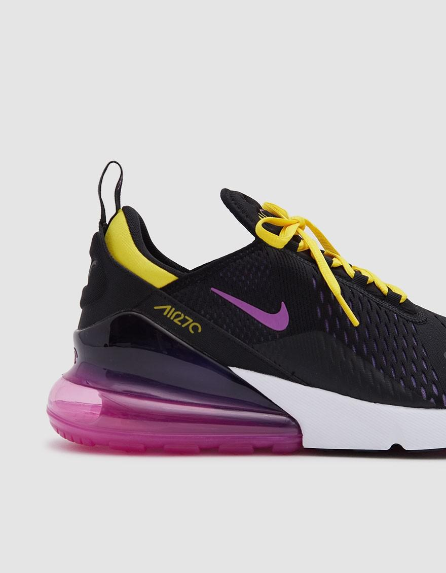 e1adf3f4f5 Nike Air Max 270 Sneaker In Black/hyper Magenta-hyper G in Black for ...