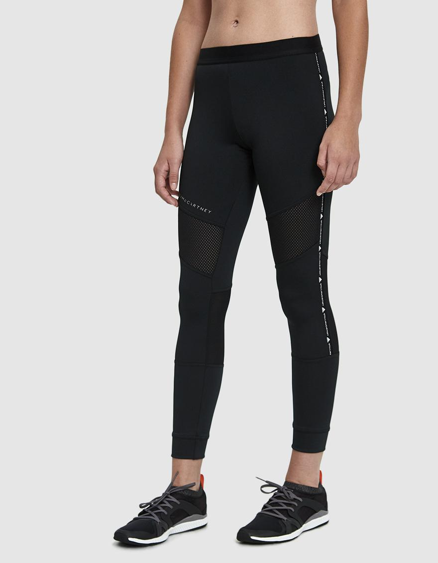 Lyst - adidas By Stella McCartney Performance Essentials Tight in Black 5a0f9b33214