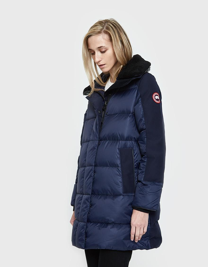 Canada Goose. Women's Blue Altona Coat