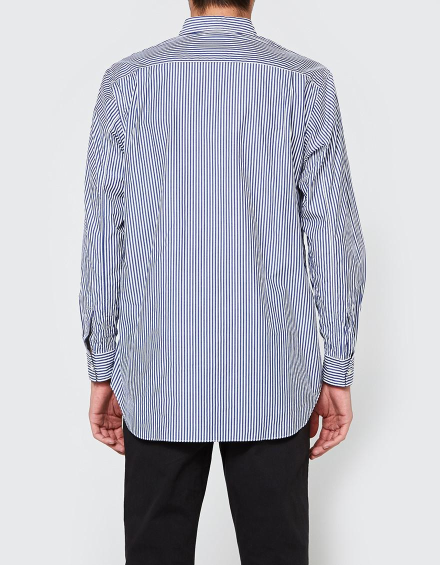 Comme des Garçons Play Stripe Woven Shirt Cheap Low Cost dzIo8uULbq